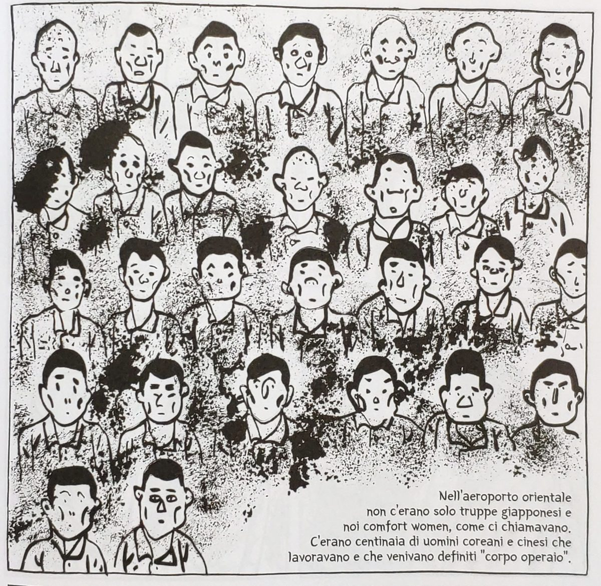 Mio caro fumetto… – Manodopera forzata all'aeroporto militare di Yanji