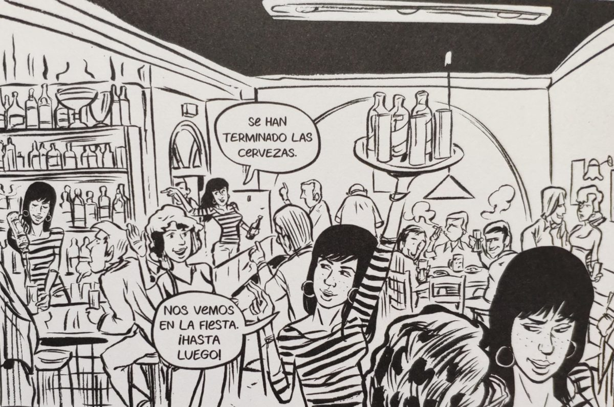 Mio caro fumetto... - Clara, protagonista e alterego di Montse Batalla in Manicomio