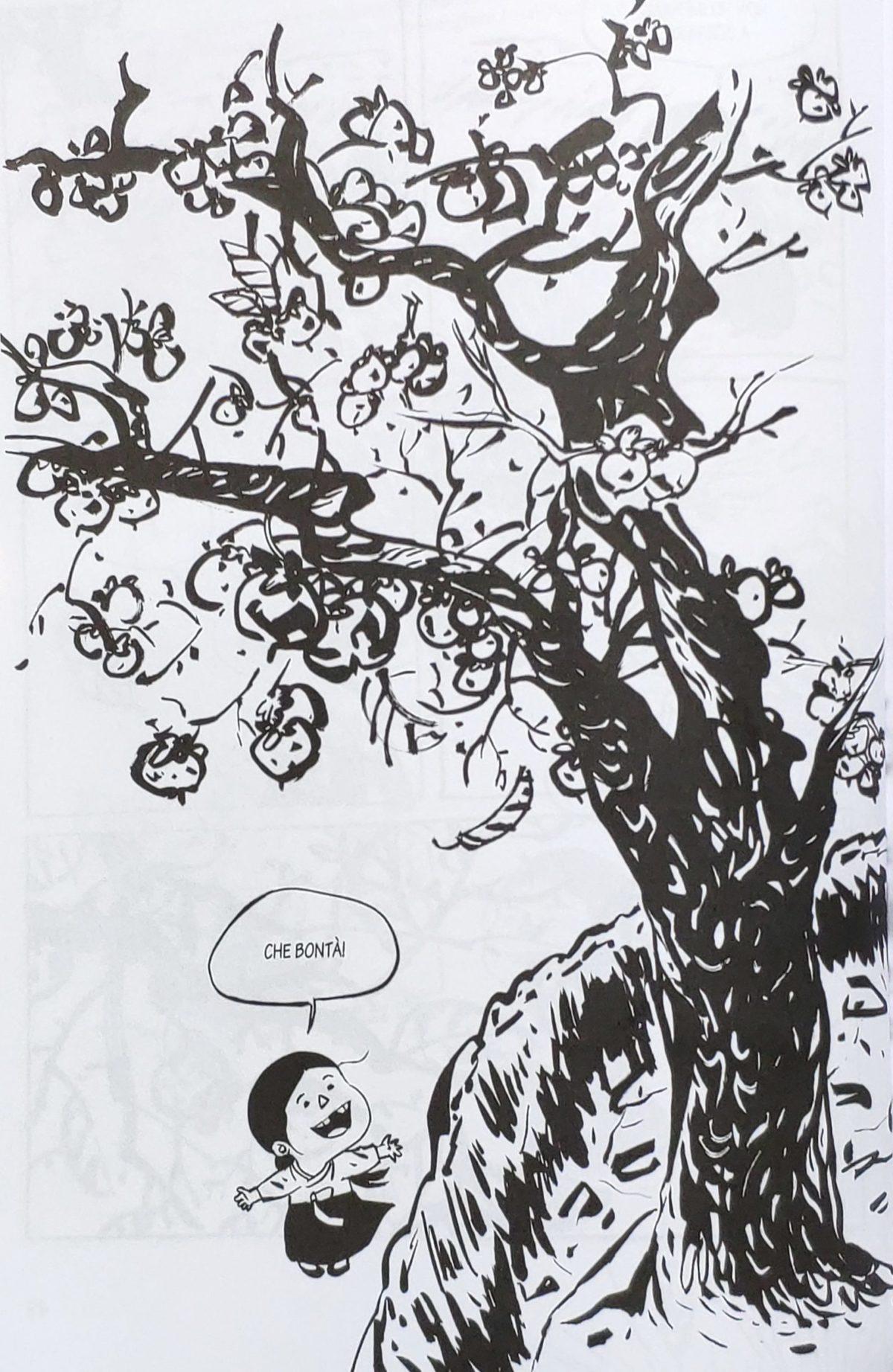Mio caro fumetto... - Ne Le Malerbe si osserva la commistione dello stile dei manhwa con quello della pittura Joseon