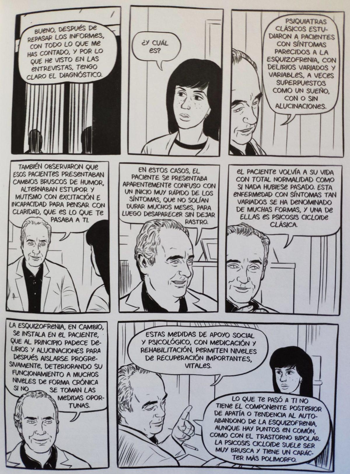 Mio caro fumetto… – Il dottor Santi Escoté e la diagnosi definitiva di psicosi cicloide