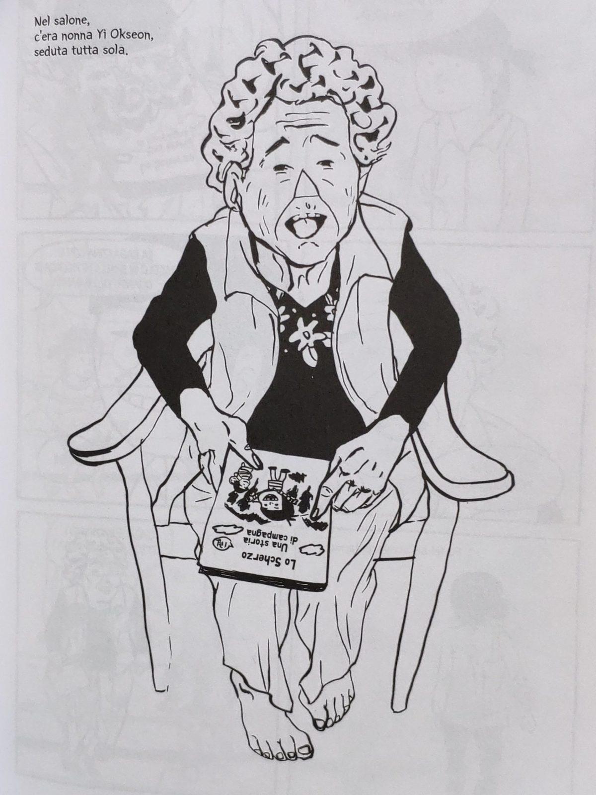 Mio caro fumetto... - Le Malerbe nasce dalla testimonianza di nonna Yi Okseon