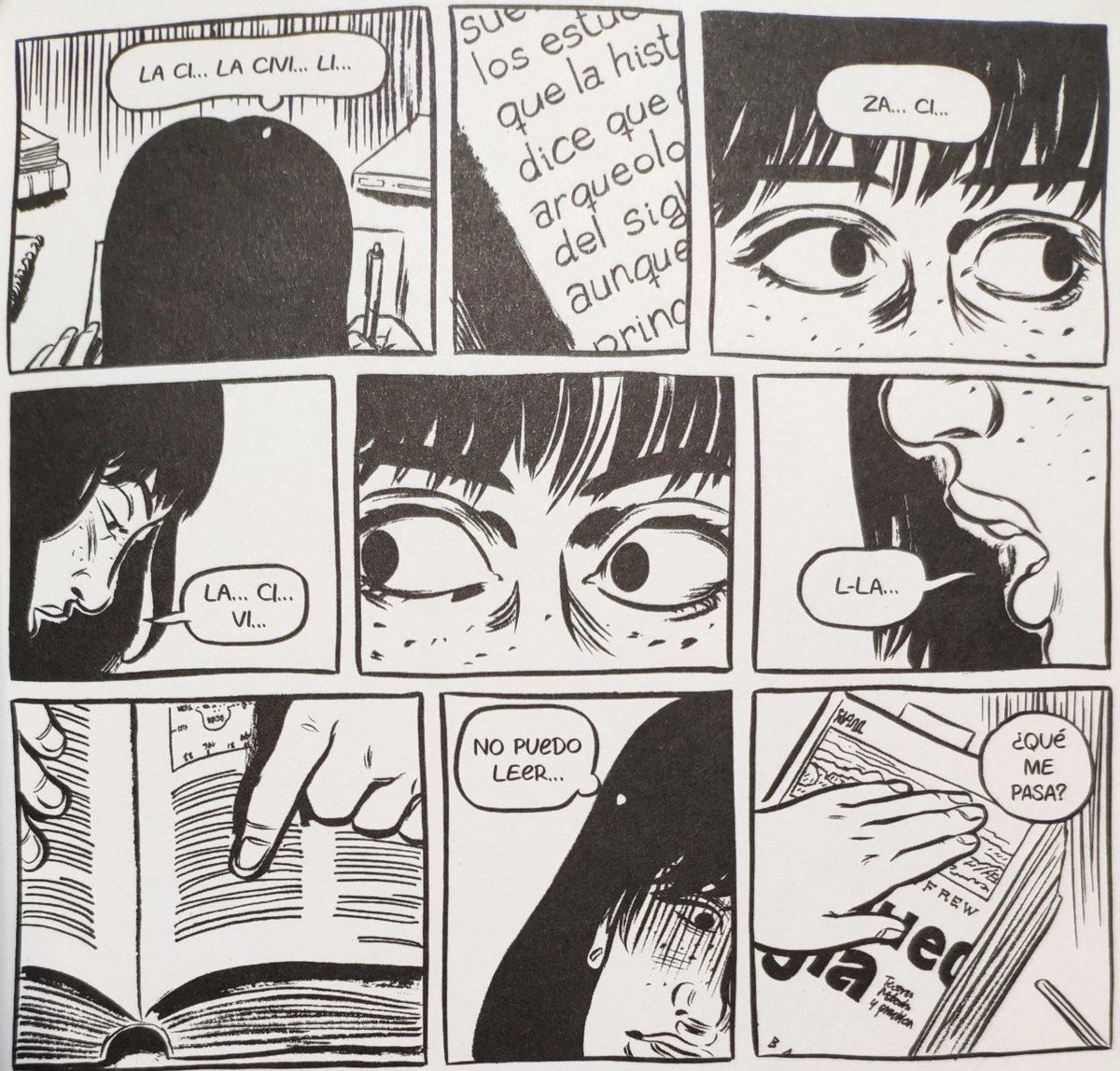 Mio caro fumetto... - Montse e la difficoltà di lettura