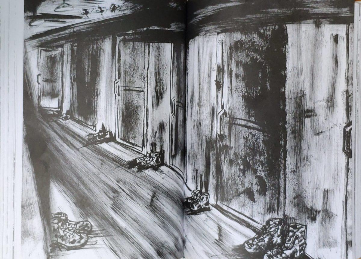 Mio caro fumetto... - Un corridoio della comfort station