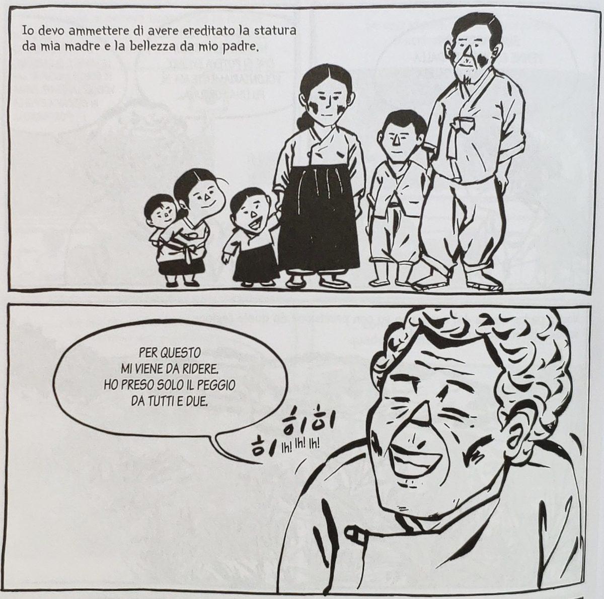 Mio caro fumetto... - Yi Okseon e la sua famiglia