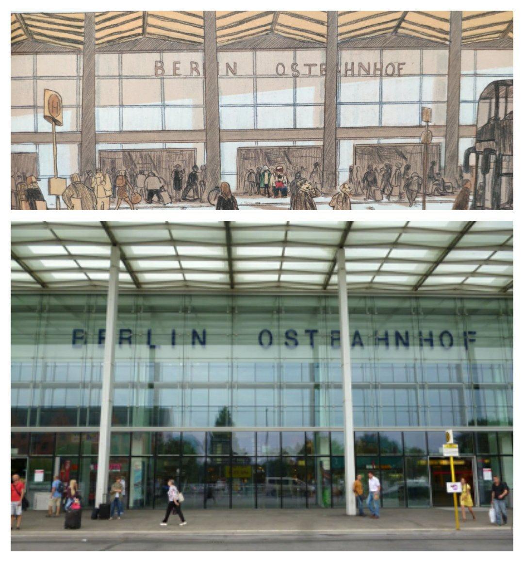 Mio caro fumetto… - Realismo dei disegni di Imparare a cadere: Berlin Ostbahnhof