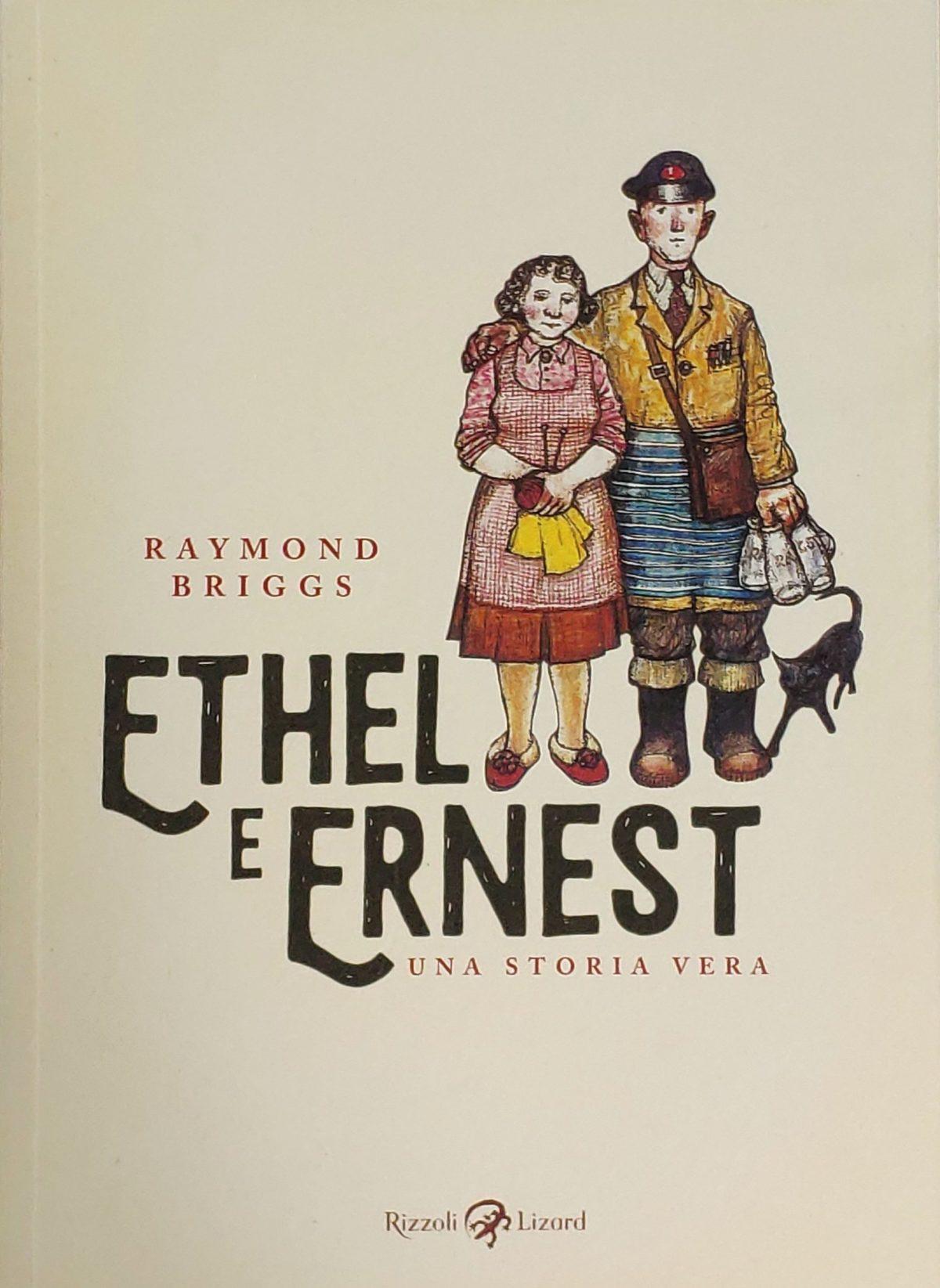 Mio caro fumetto... - Copertina di Ethel e Ernest