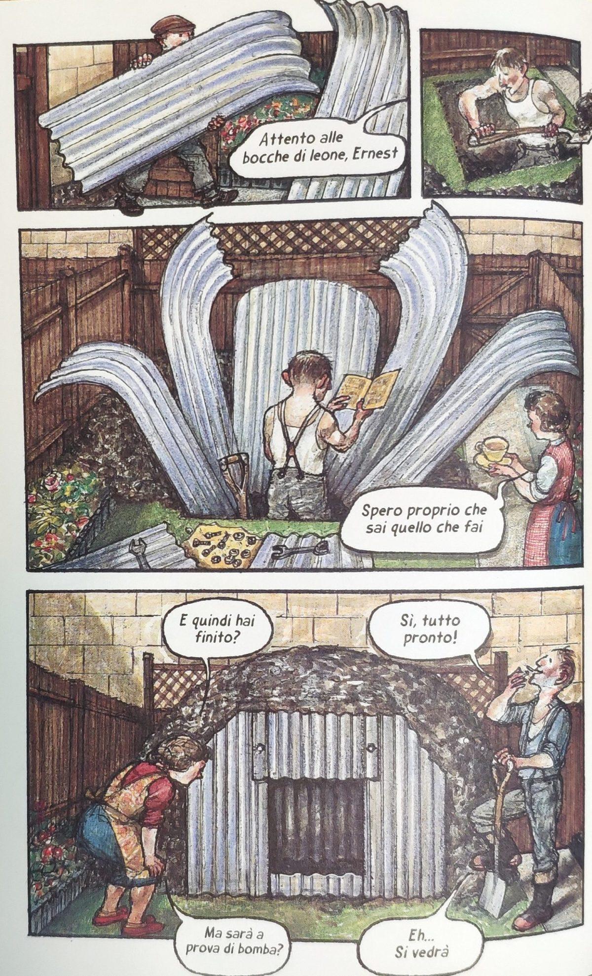 Mio caro fumetto... - Costruzione di un rifugio Anderson in giardino