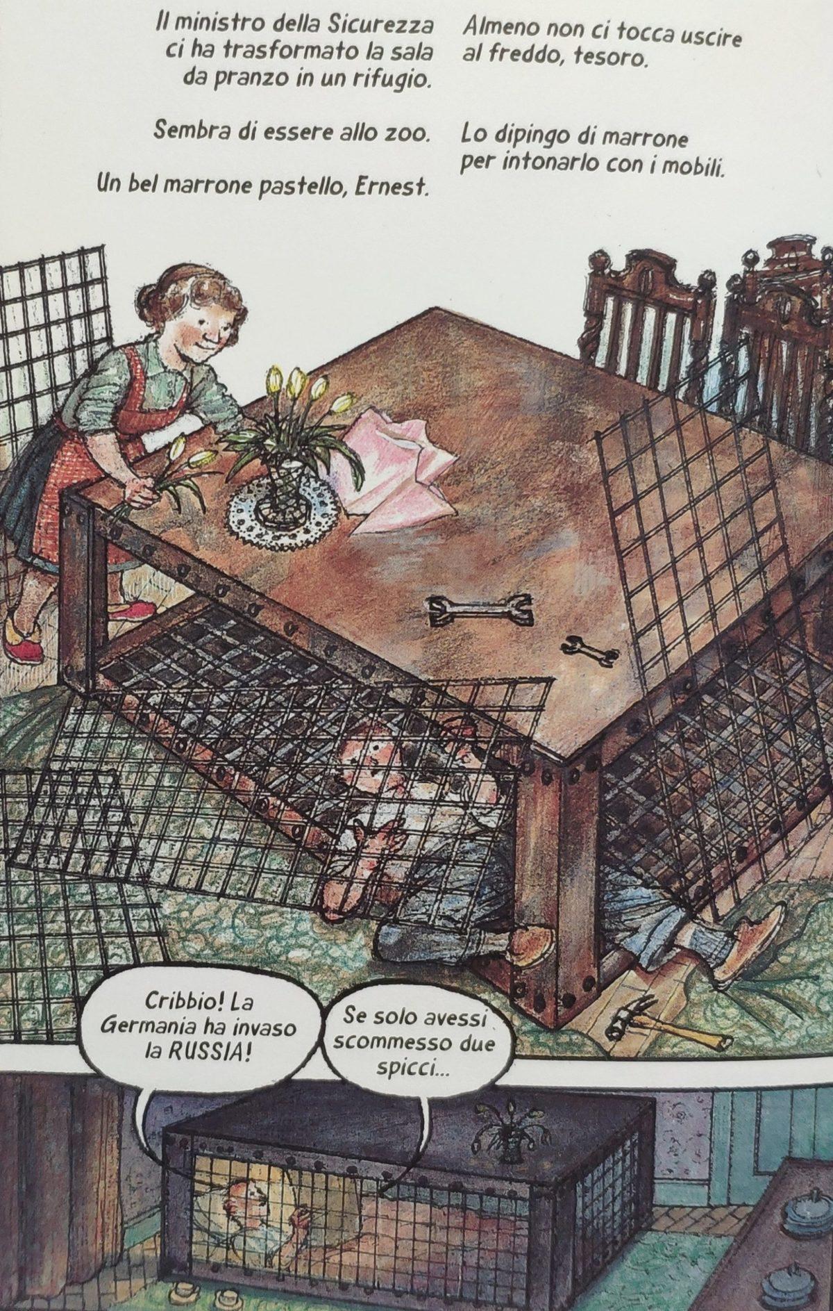 Mio caro fumetto... - Costruzione di un rifugio di Morrison a gabbia