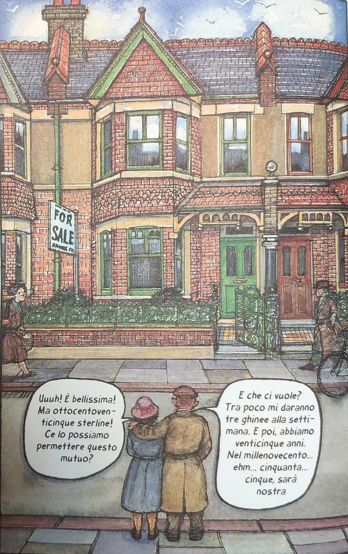 Mio caro fumetto... - Ethel e Ernest guardano la loro futura casa