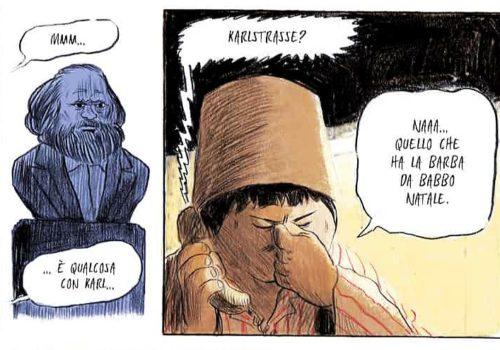 Mio caro fumetto... - Karl-Marx-Allee
