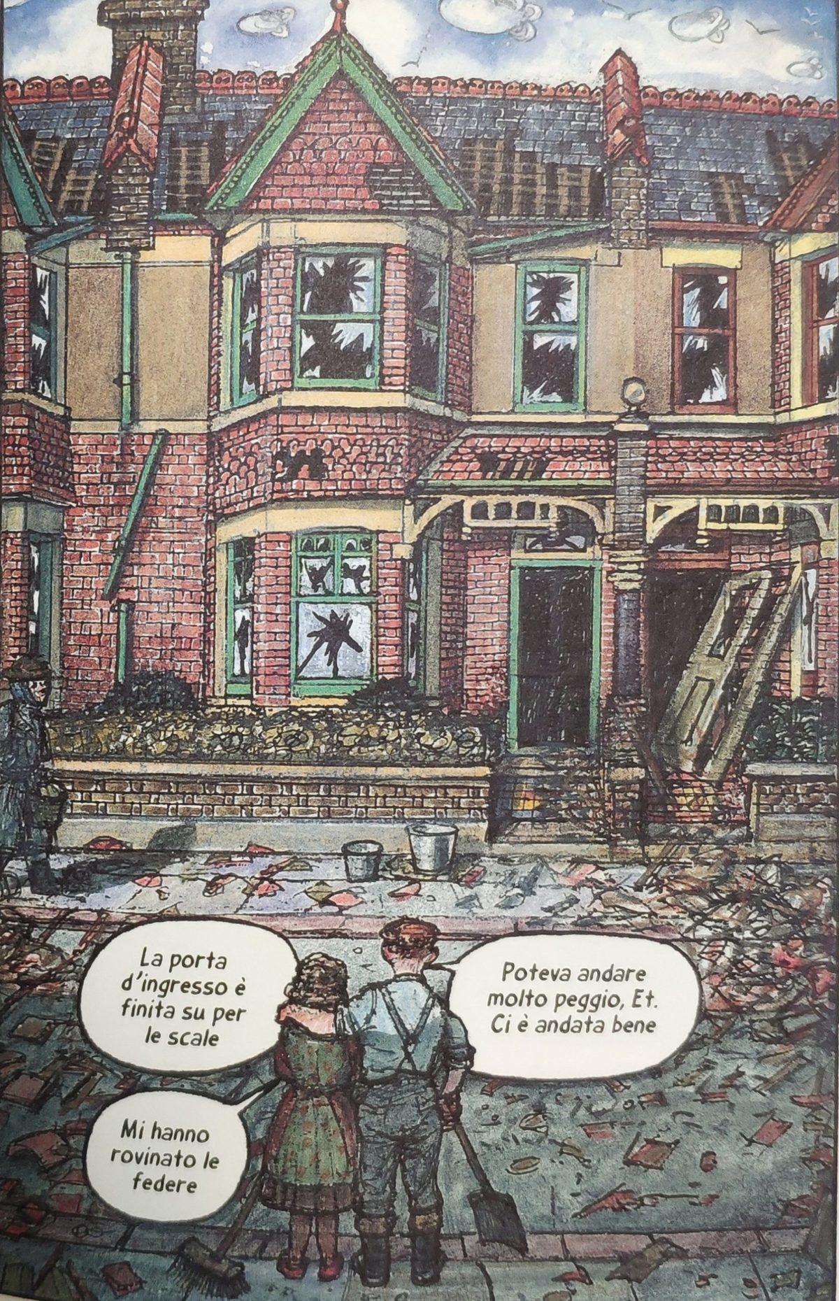 Mio caro fumetto... - La casa di Ethel e Ernest danneggiata dalle bombe