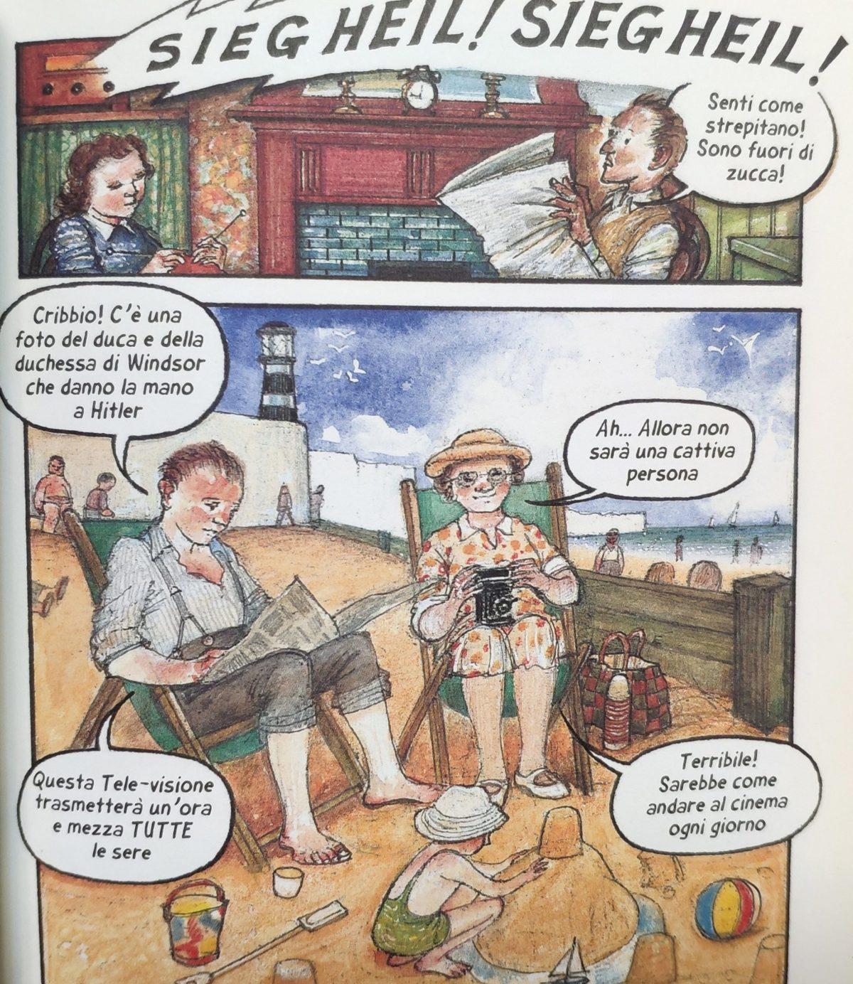 Mio caro fumetto... - Le notizie su Hitler arrivano in Gran Bretagna