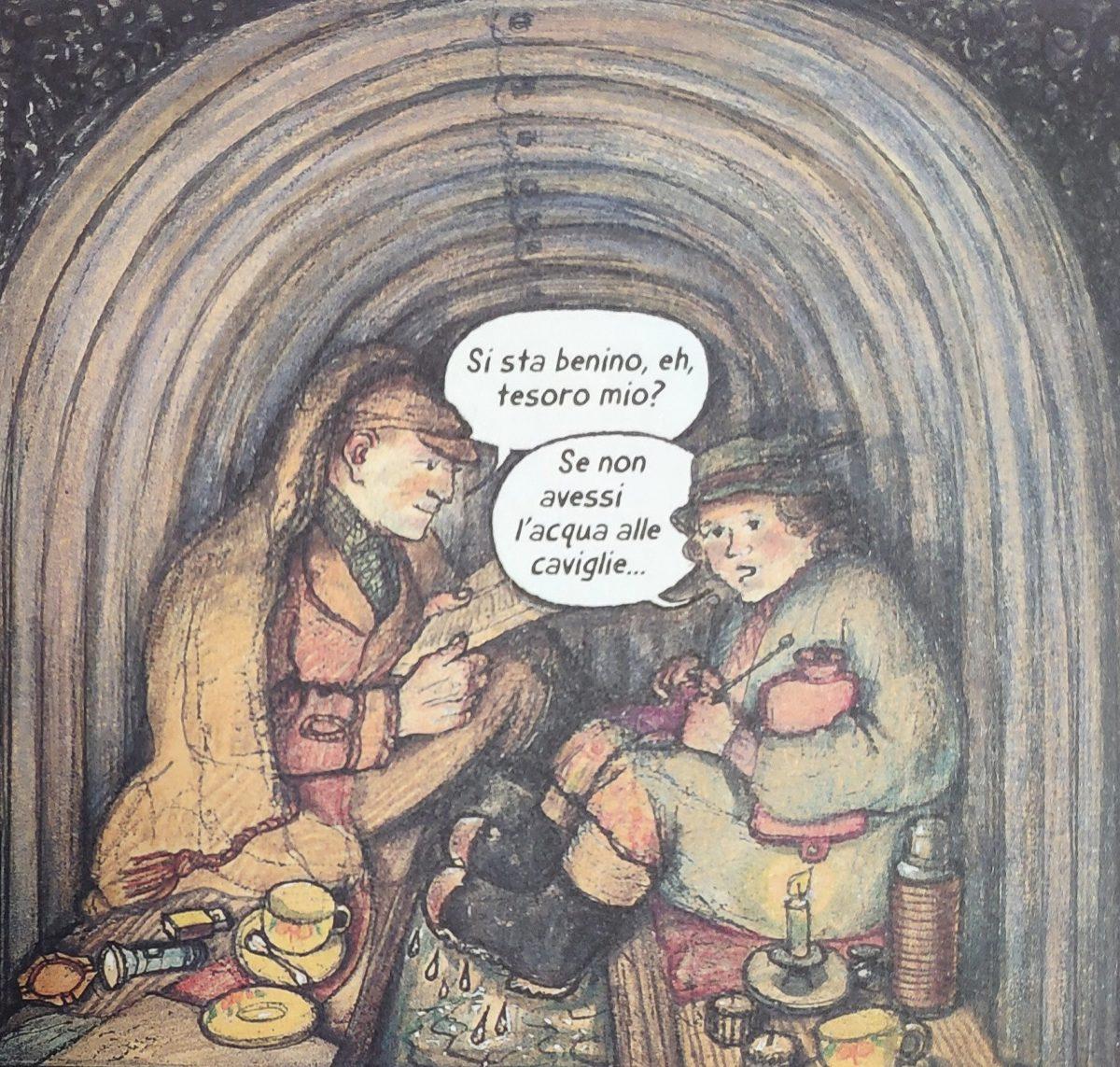 Mio caro fumetto... - Rifugi Anderson utilizzati a Londra durante la Battaglia d'Inghilterra