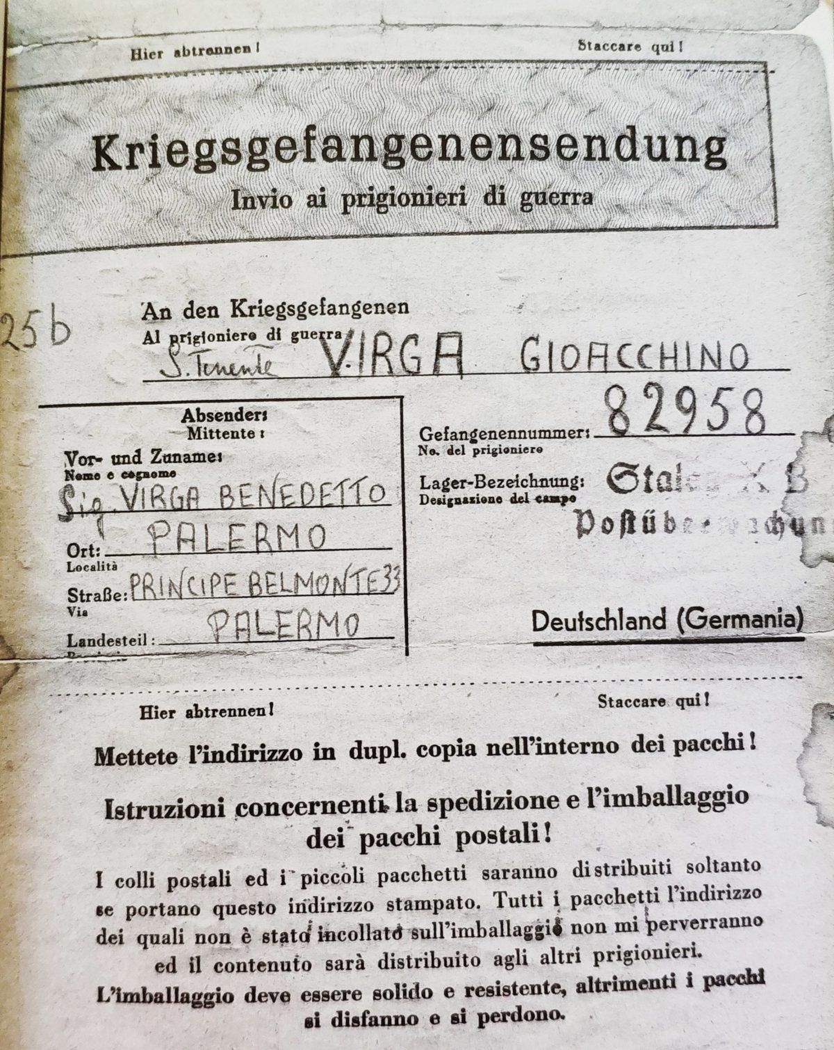 Mio caro fumetto... - Lettere a Gioacchino Virga nello Stalag XB