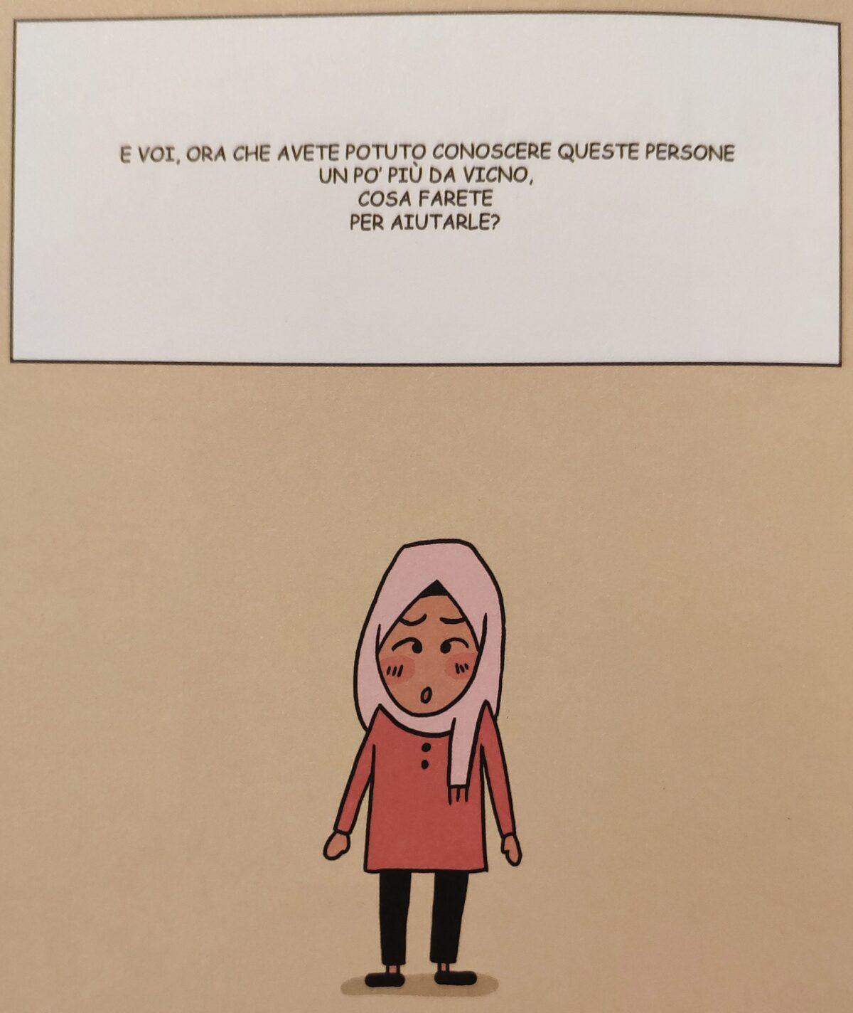 Mio caro fumetto… - Domanda finale di Un'altra via per la Cambogia