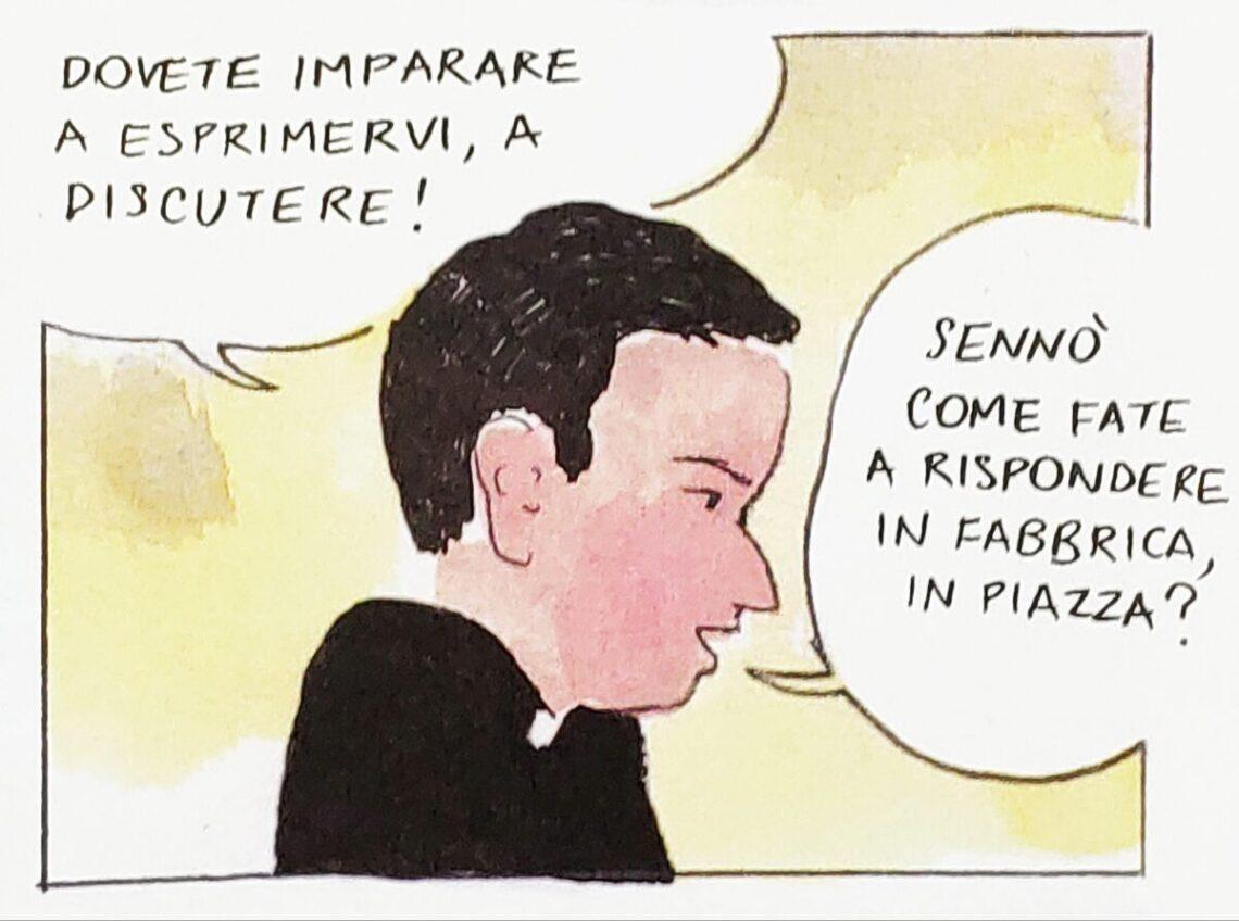 Mio caro fumetto... - Don Milani e l'importanza del sapersi esprimere