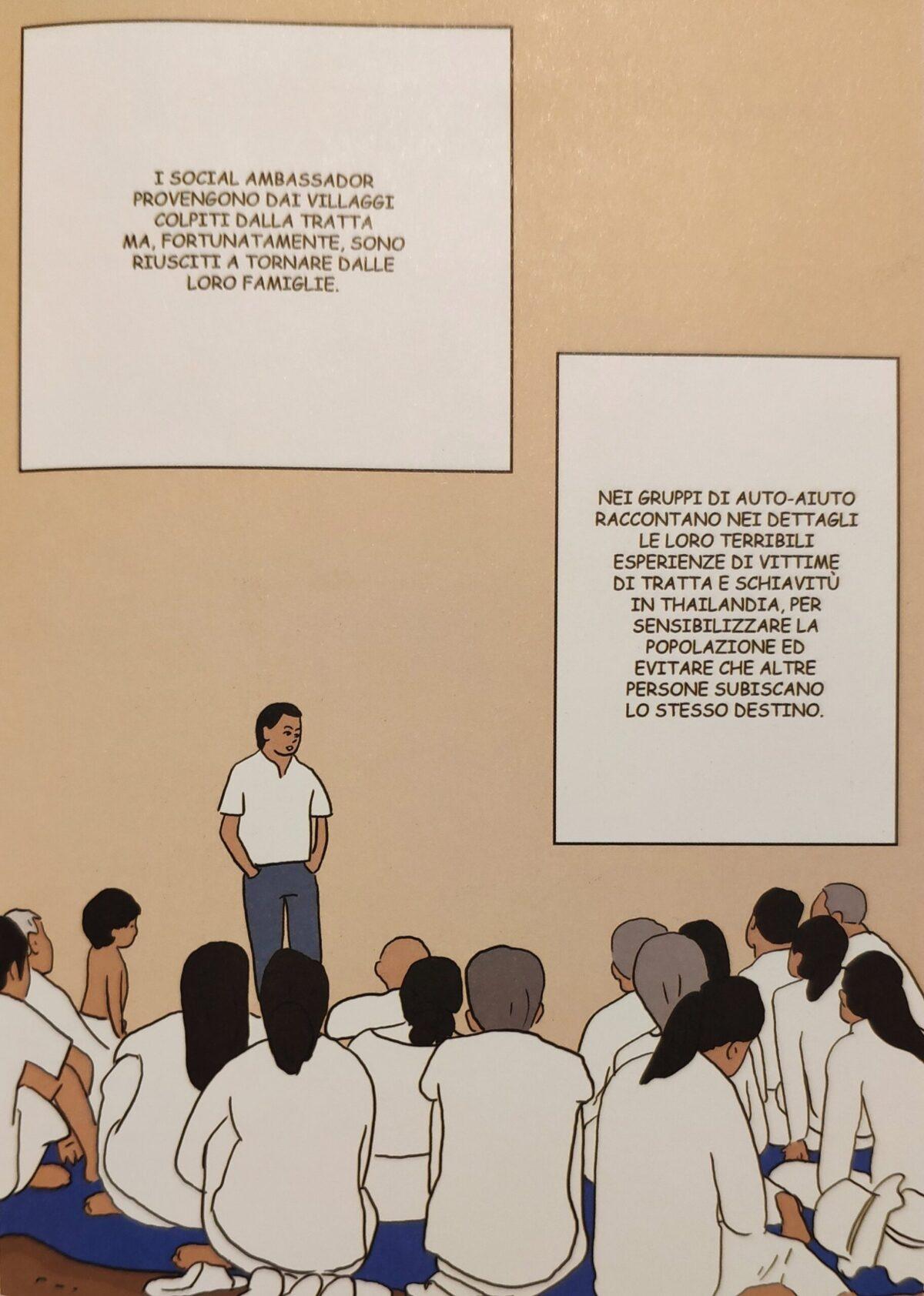 Mio caro fumetto... - Il ruolo dei social ambassador nei gruppi di auto-aiuto