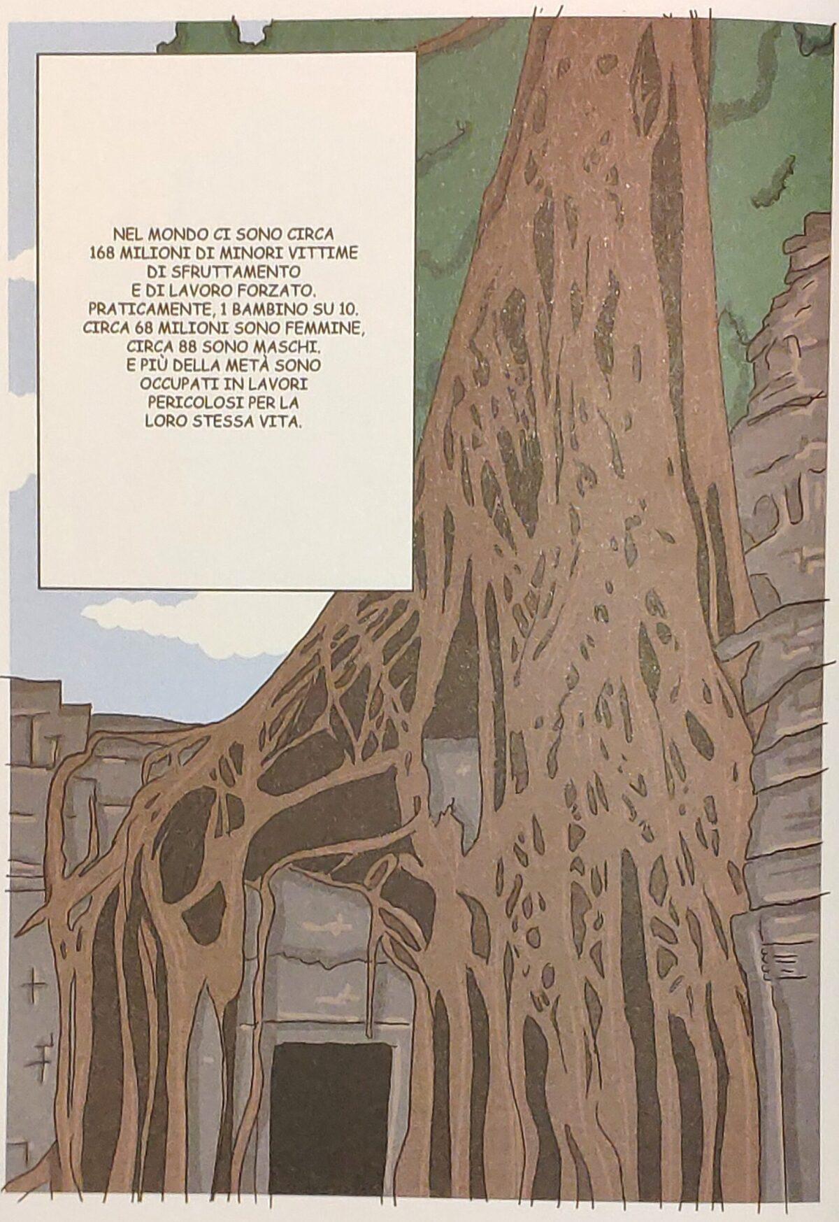 Mio caro fumetto... - Il tempio di Ta Prohm circondato dalla giungla