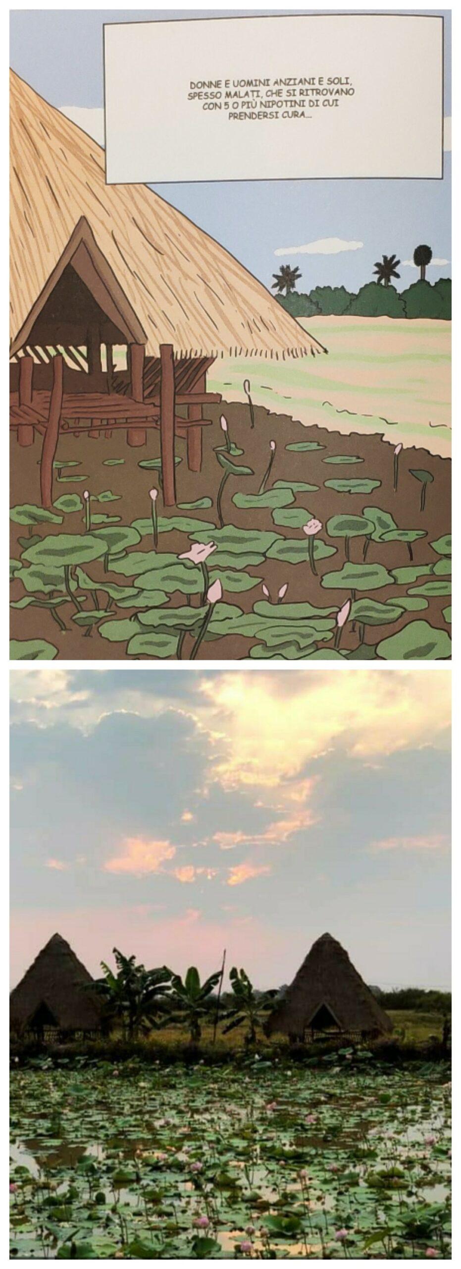 Mio caro fumetto... - Lotus Farm a Siem Riep
