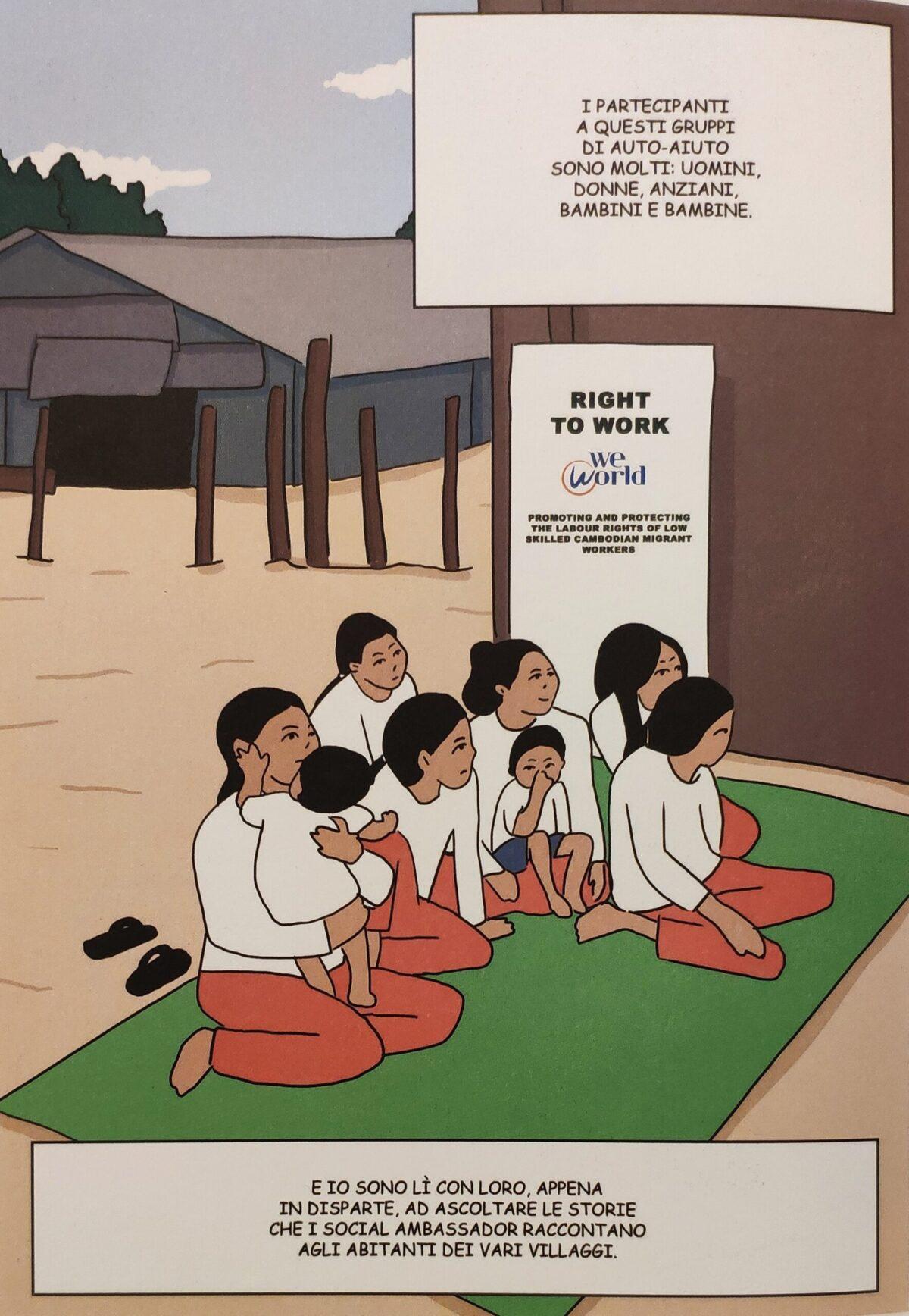 Mio caro fumetto... - WeWorld e la prevenzione della tratta in Cambogia