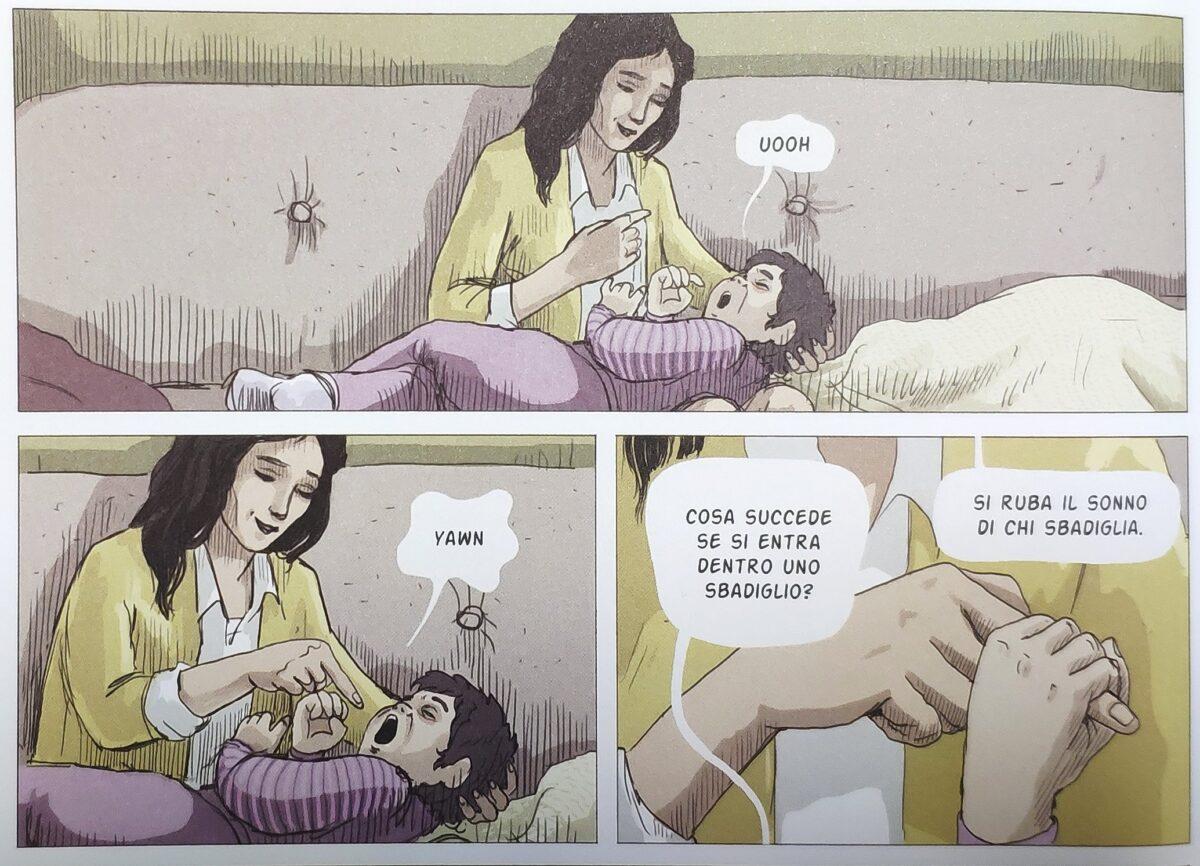 Mio caro fumetto... - Anita, la mamma e lo sbadiglio