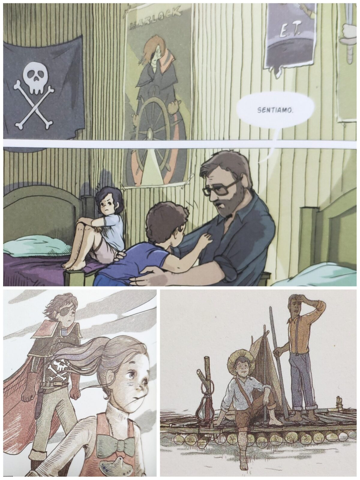 Mio caro fumetto... - Filmografia e manga in Qui c'è tutto il mondo