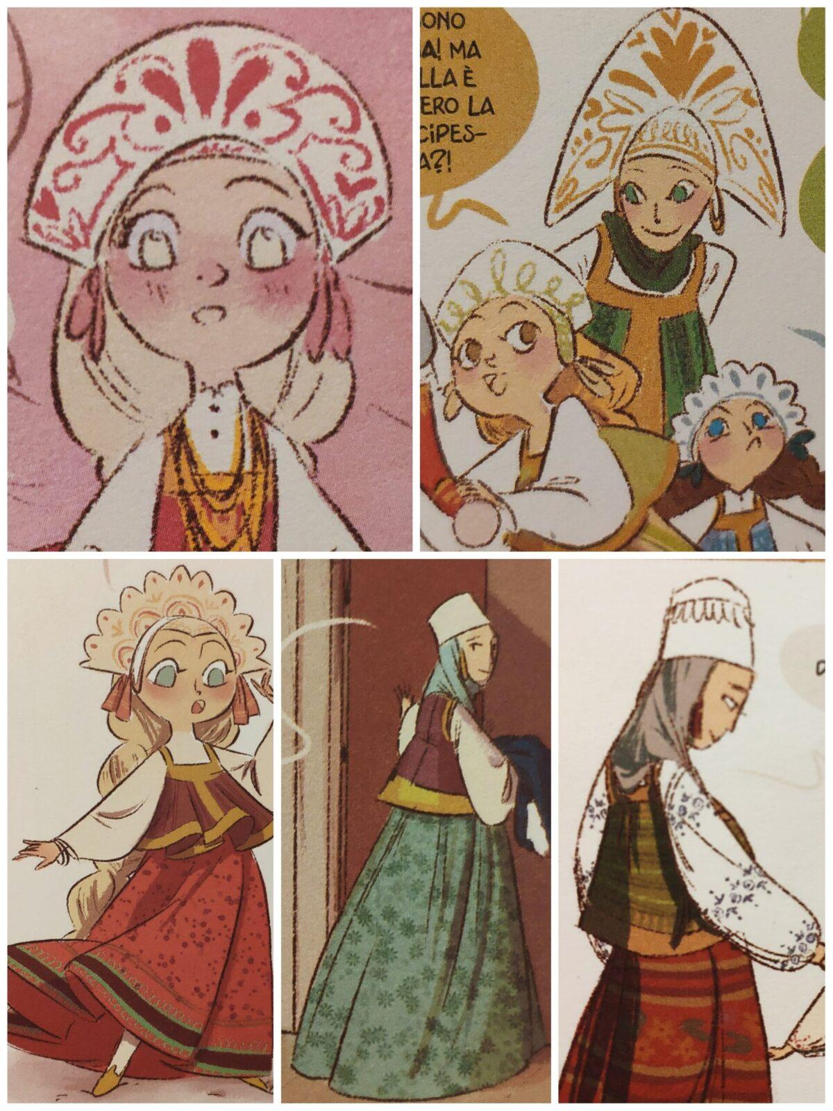 Mio caro fumetto... - Abiti tradizionali russi da donna