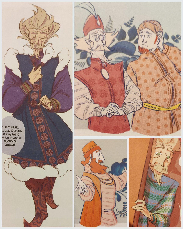 Mio caro fumetto... - Abiti tradizionali russi da uomo