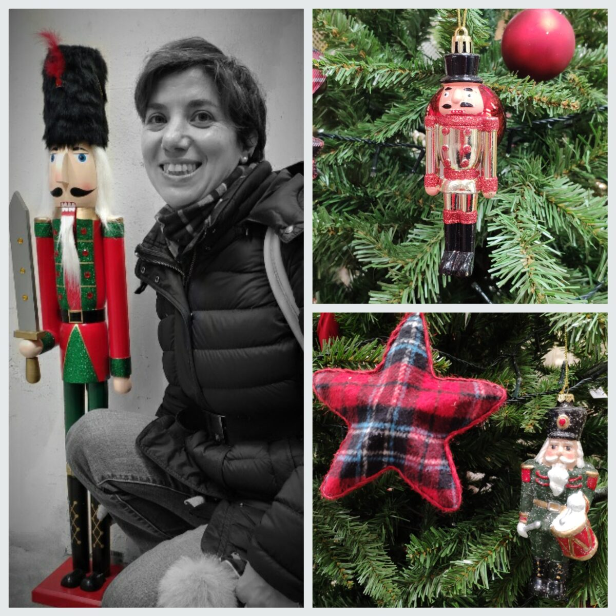 Mio caro fumetto... - Decorazioni di Natale a forma di Schiaccianoci