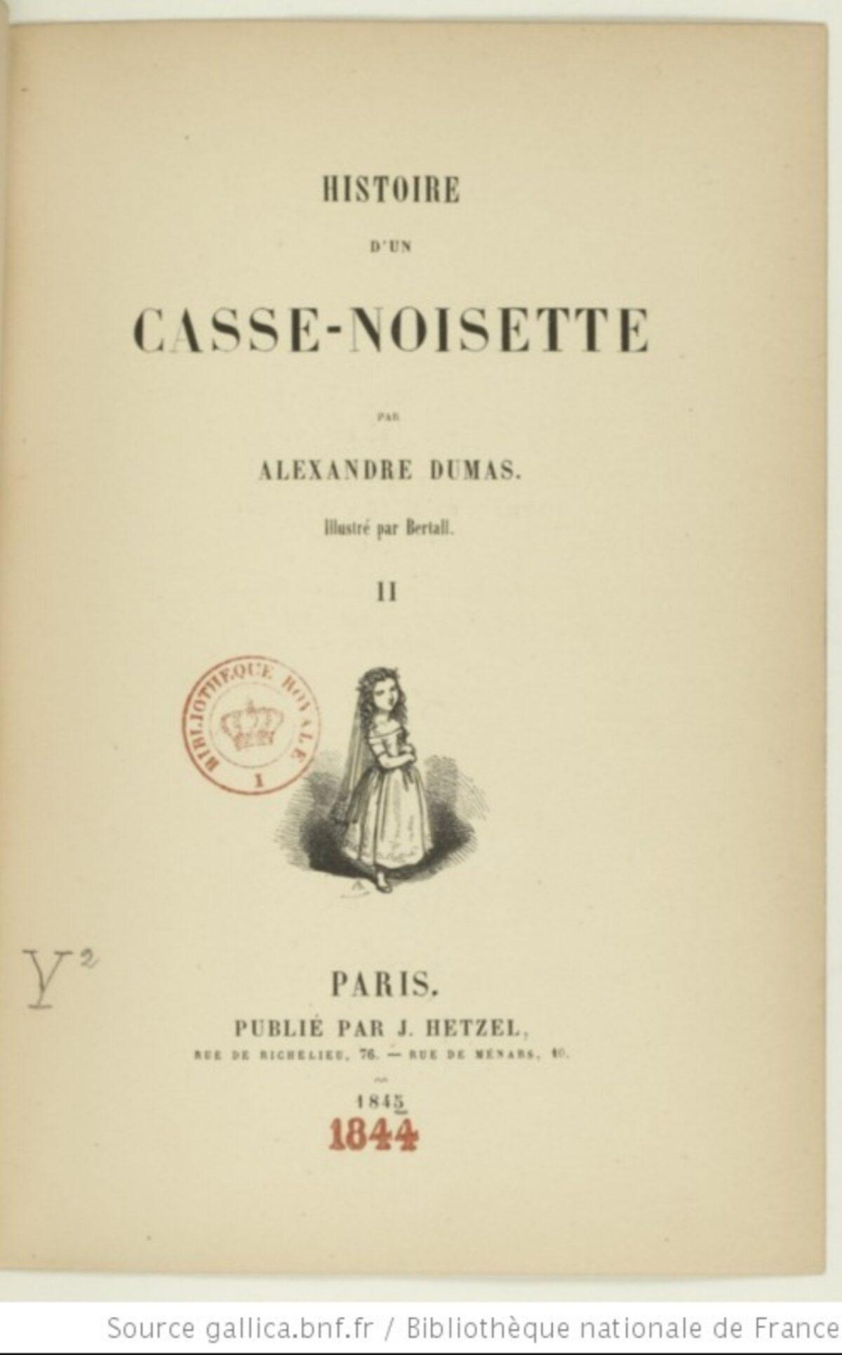 Mio caro fumetto... - Histoire d'un casse-noisette di Alexandre Dumas
