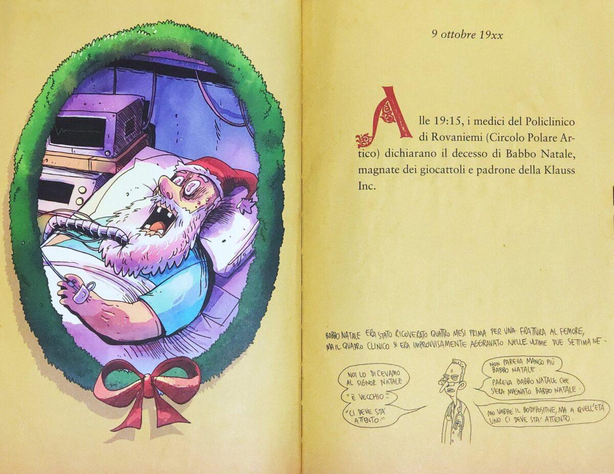 Mio caro fumetto... - La morte di Babbo Natale in A Babbo morto