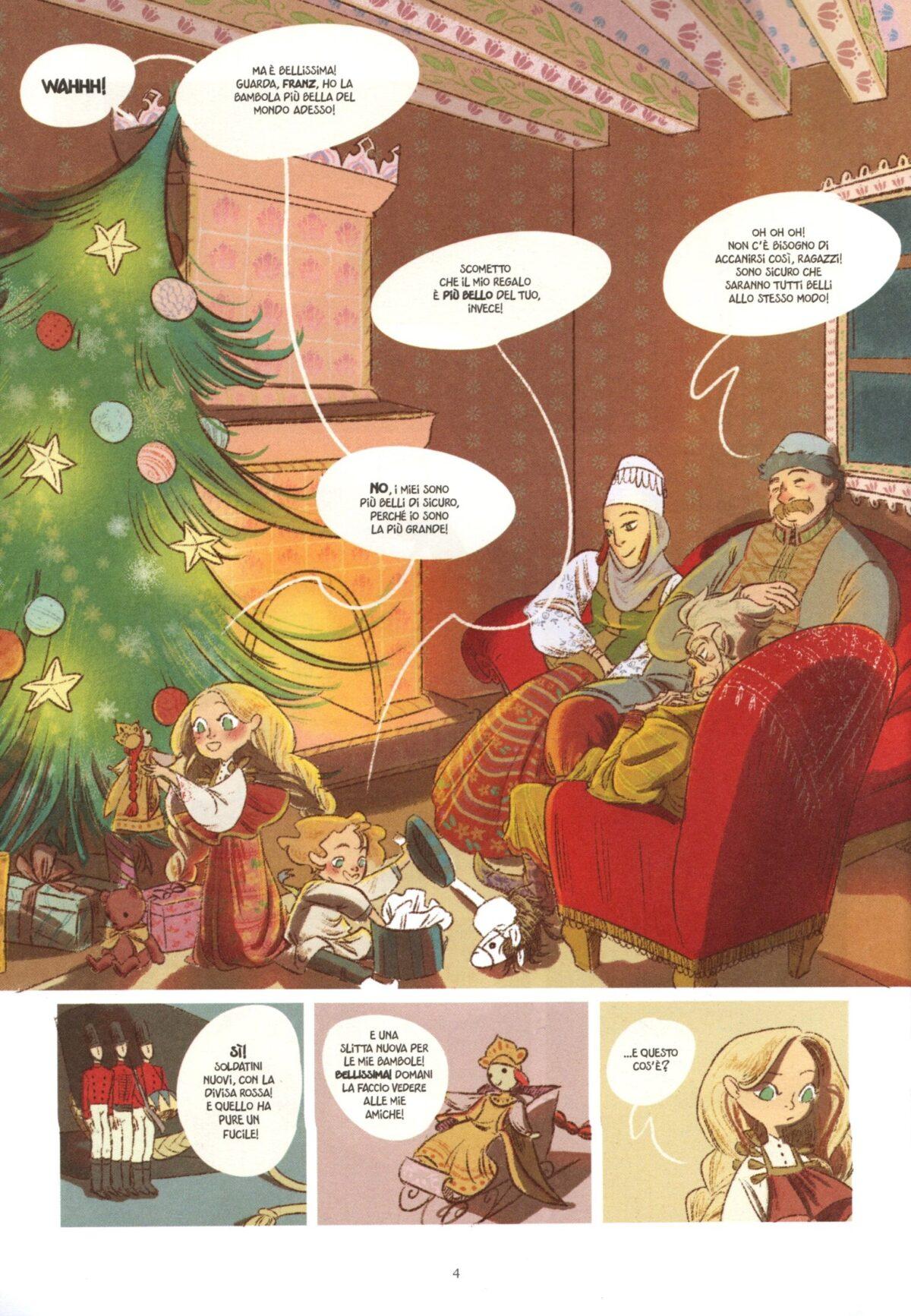 Mio caro fumetto... - La Vigilia di Natale a casa Stahlbaum