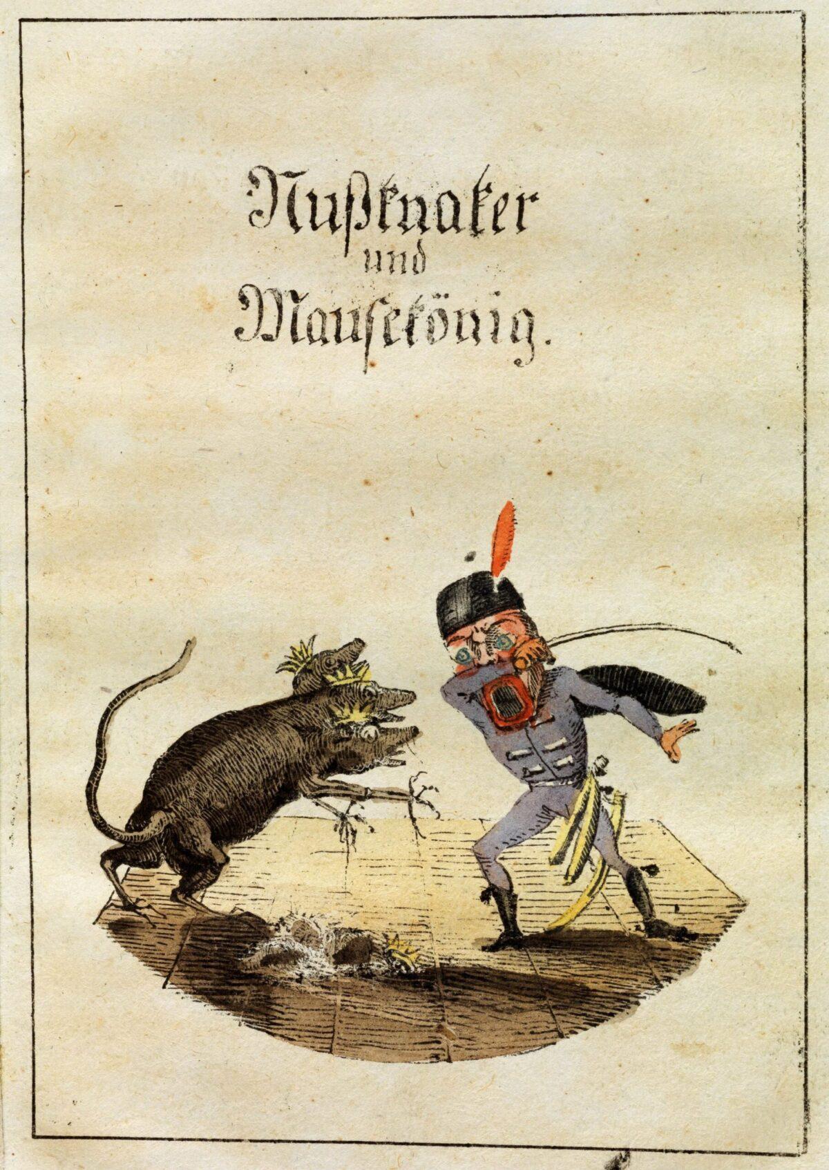 Mio caro fumetto... - Nußknacker und Mausekönig con illustrazioni di Hoffmann