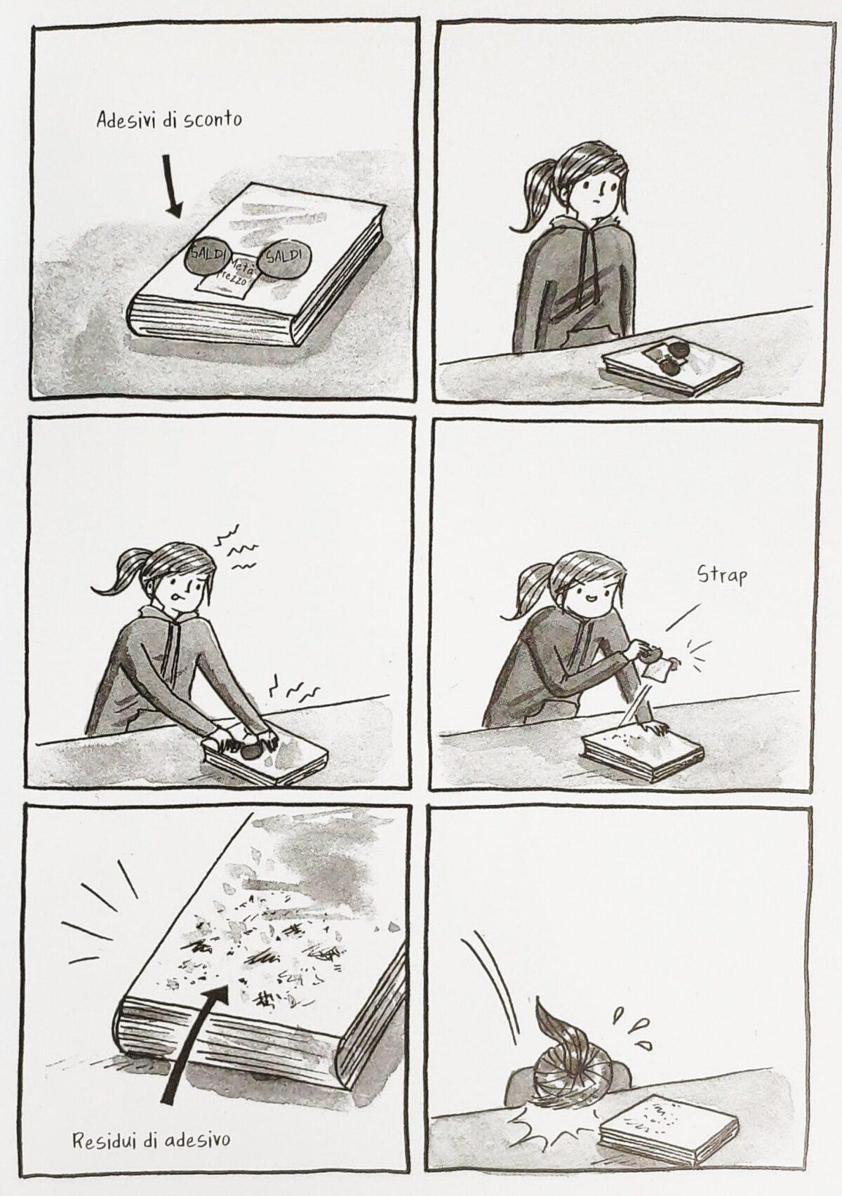 Mio caro fumetto... - Debbie e gli adesivi sconto sui libri