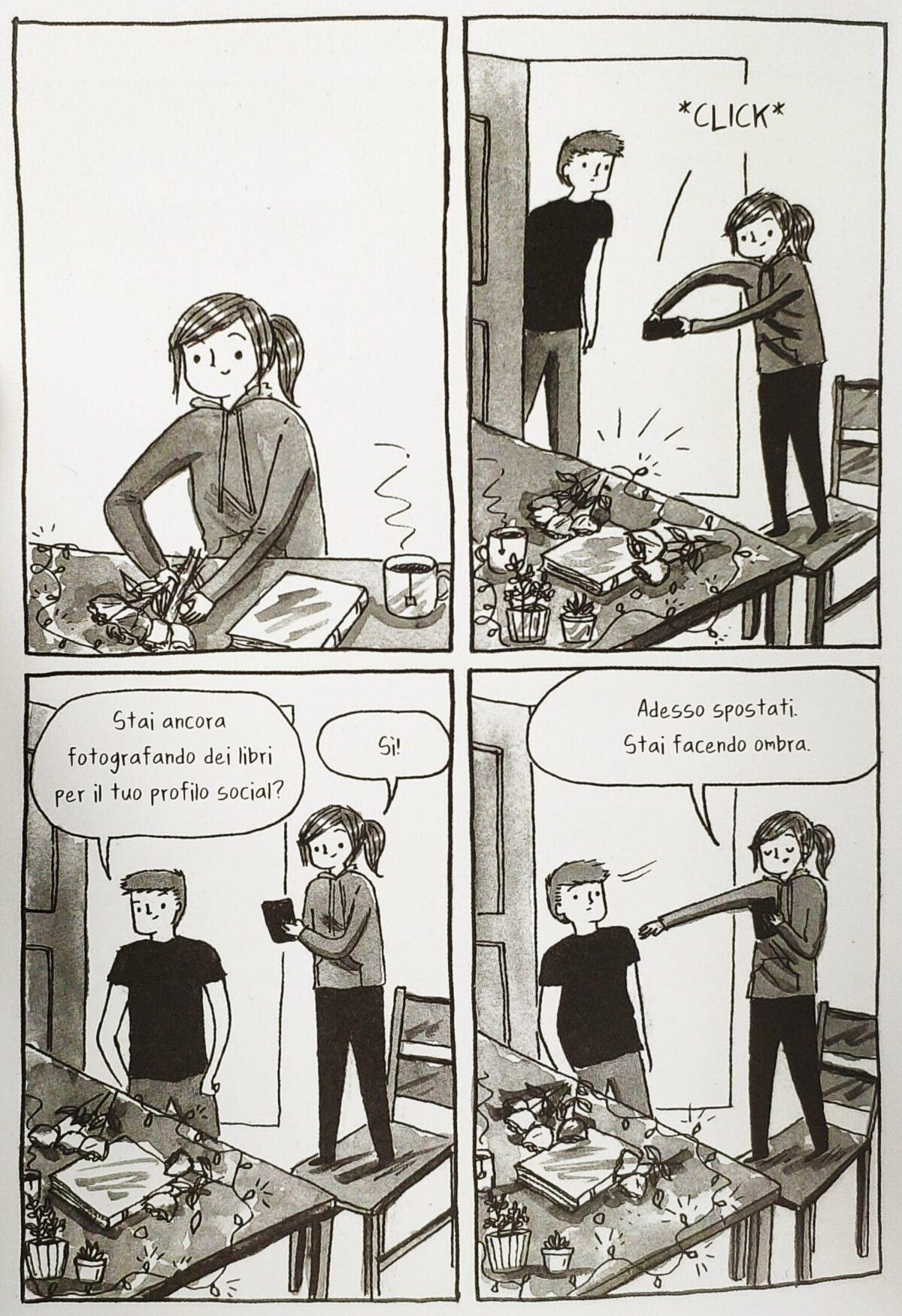 Mio caro fumetto... - Fare le foto ai libri per i social