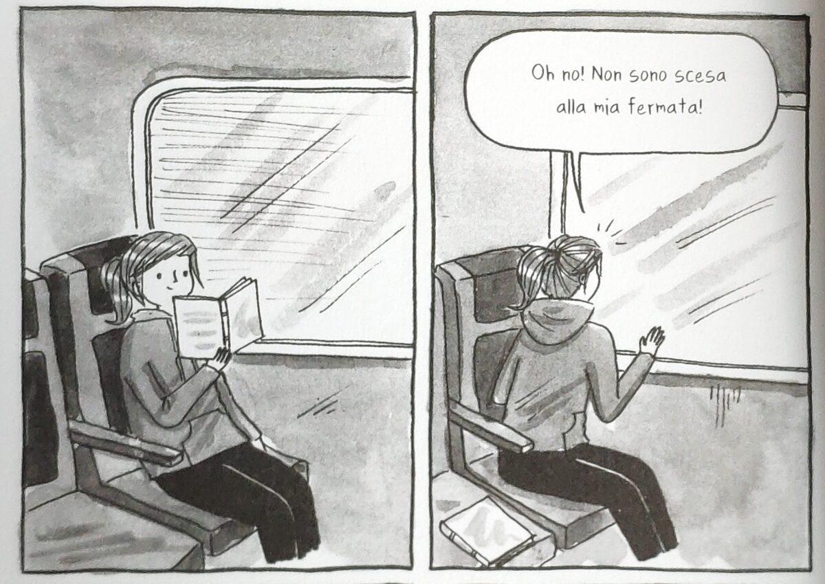 Mio caro fumetto... - Imprevisti del leggere sui mezzi pubblici