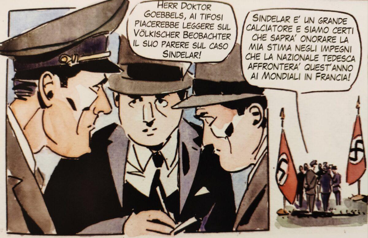 Mio caro fumetto... - Joseph Goebbels e Sindelar