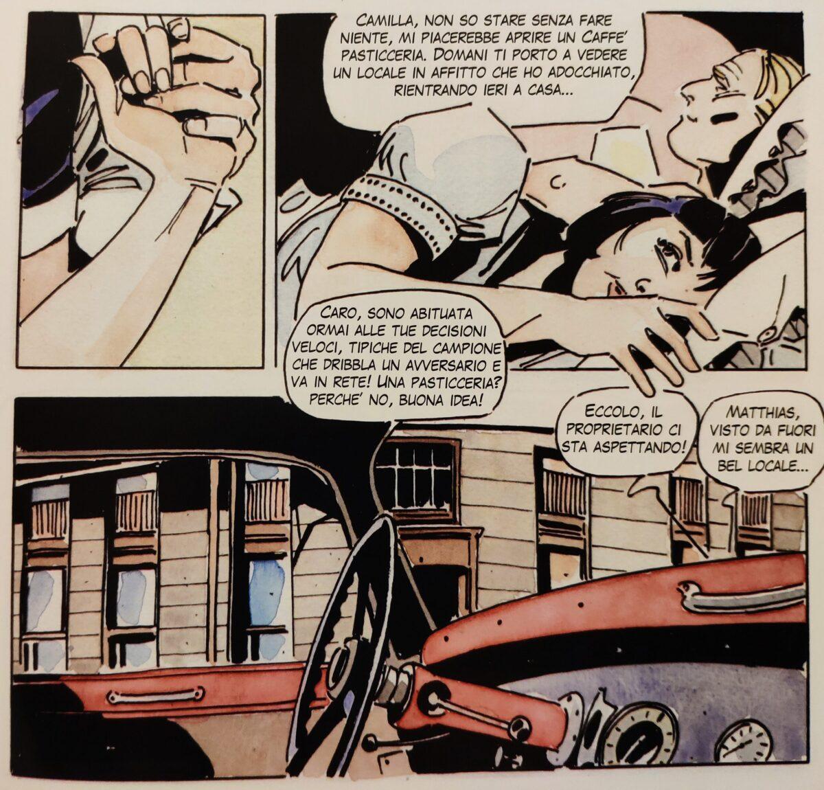 Mio caro fumetto... - L'acquisto del Café Annahof, poi Café Matthias Sindelar