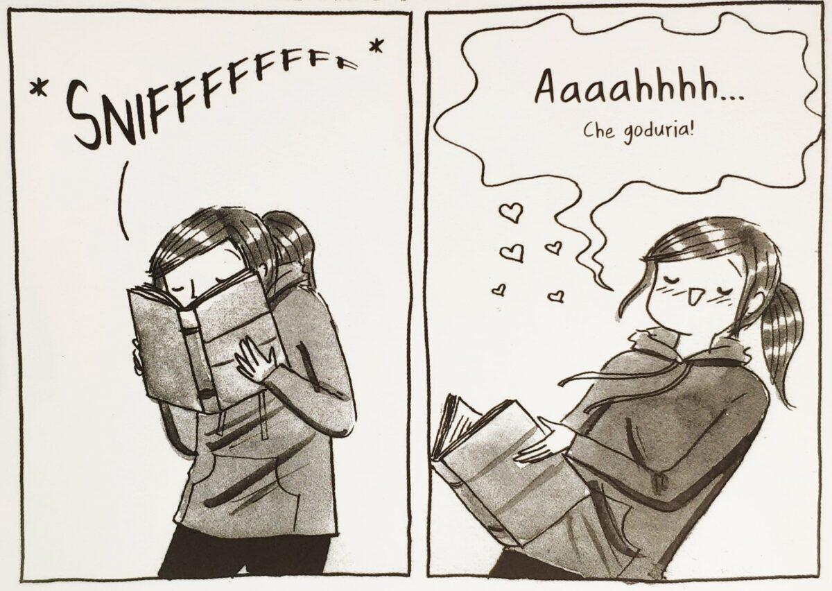 Mio caro fumetto... - L'inebriante profumo dei libri