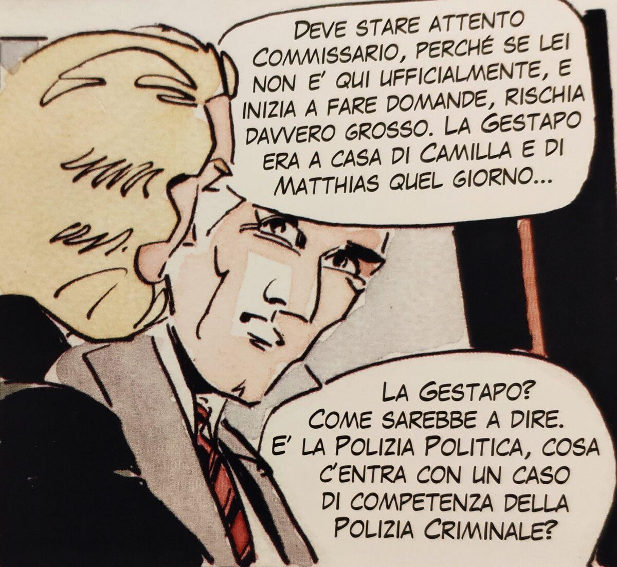 Mio caro fumetto... - L'intervento della Gestapo al posto della Polizia criminale