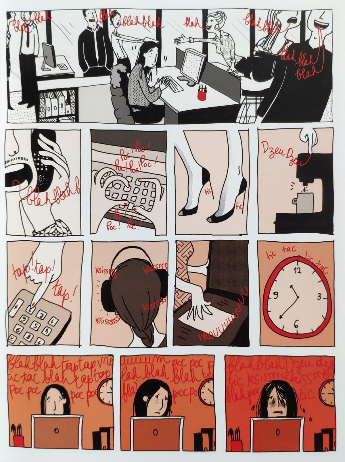 Mio caro fumetto... - Elementi di disturbo e allarmanti note di rosso e di arancio