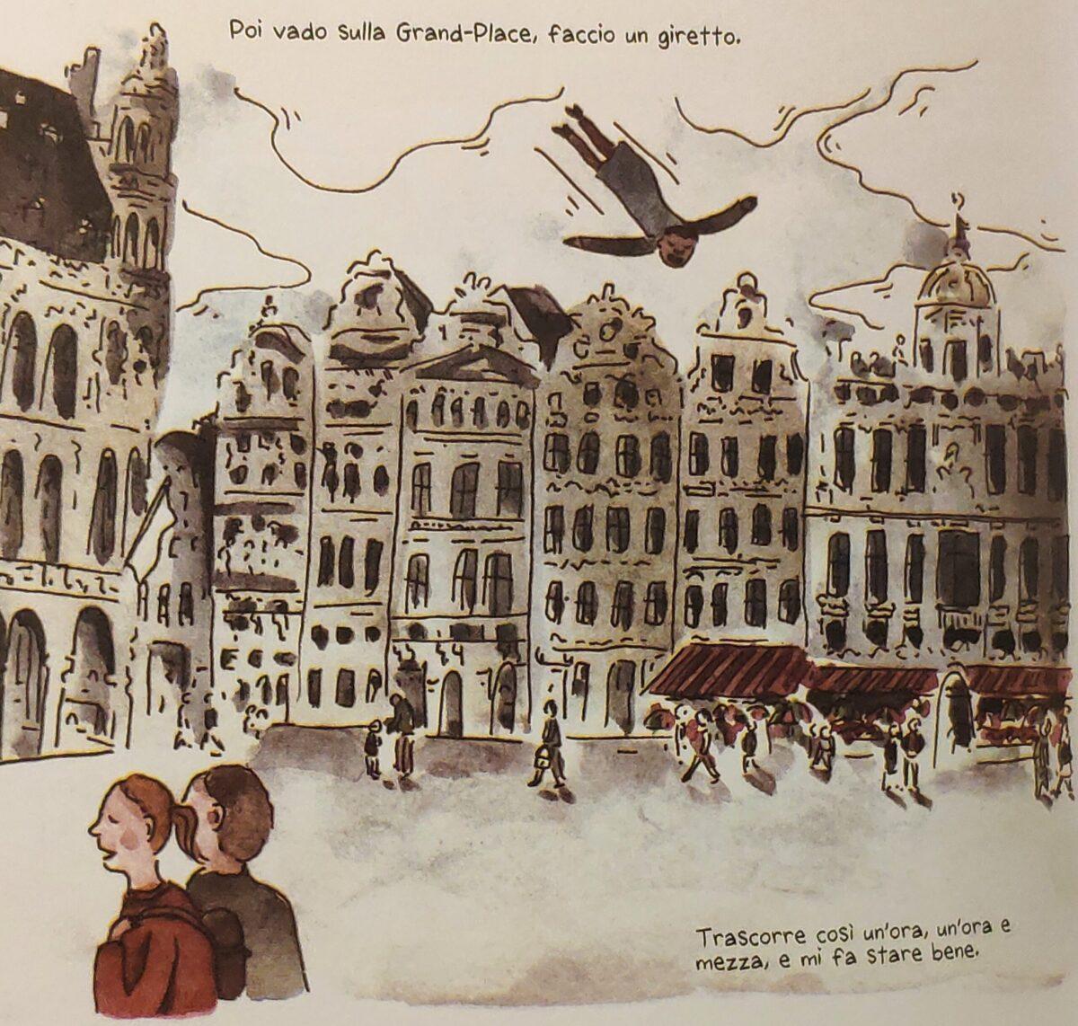 Mio caro fumetto... - Evadere con la mente e fare un giro della Grand-Place di Bruxelles