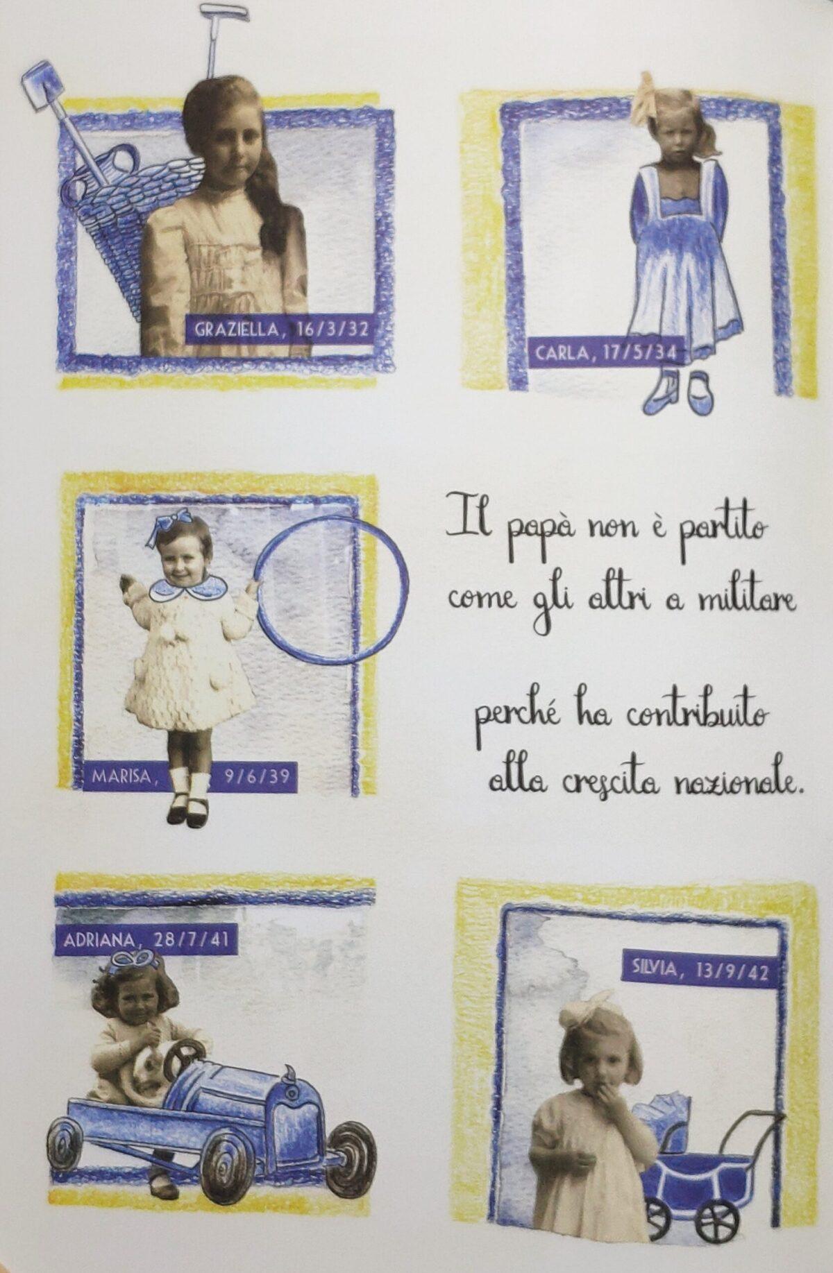 Mio caro fumetto... - Graziella Mapelli e le sorelle Carla, Marisa, Adriana e Silvia. Una grande famiglia, in linea con la politica di crescita demografica