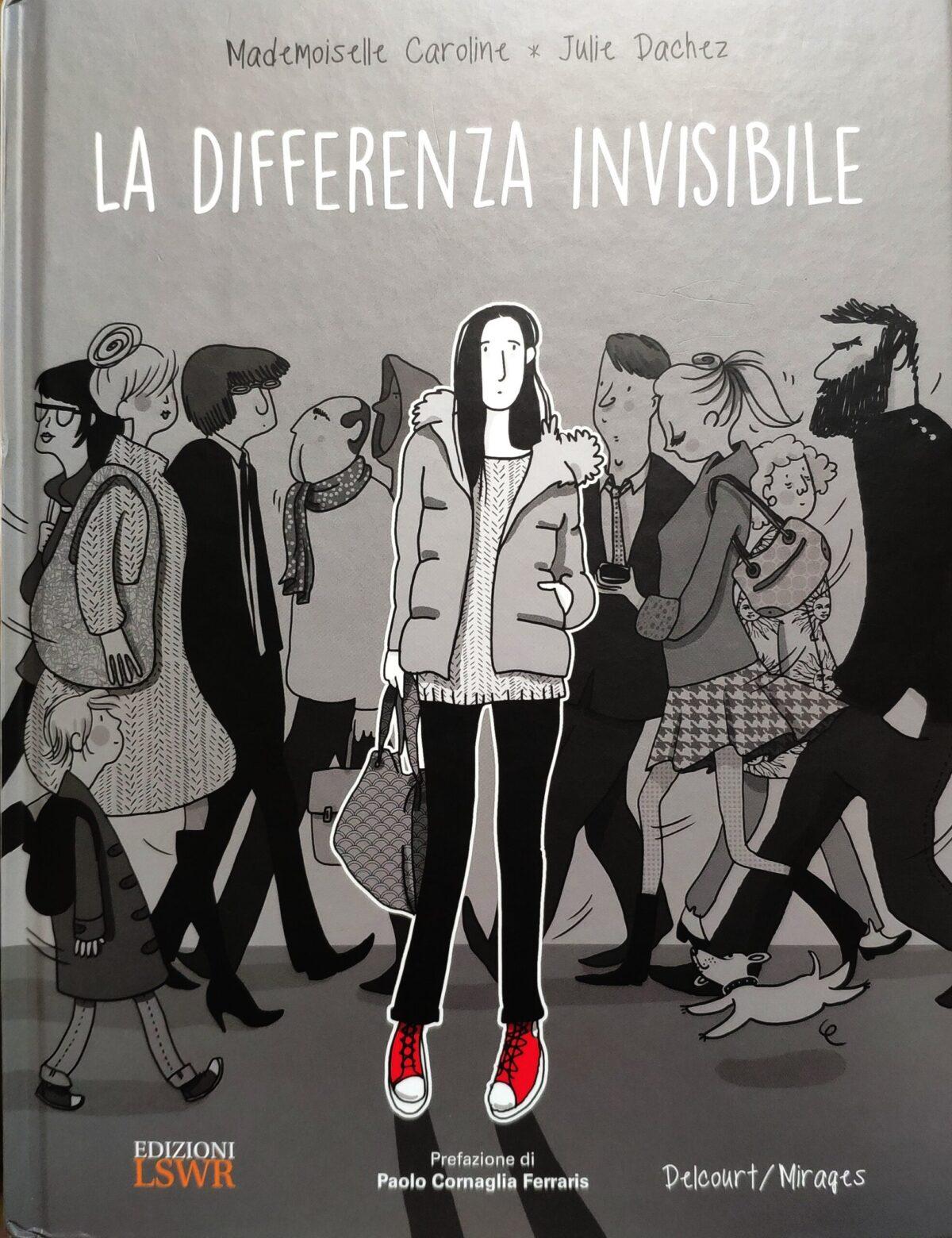 Mio caro fumetto... - La copertina de La differenza invisibile