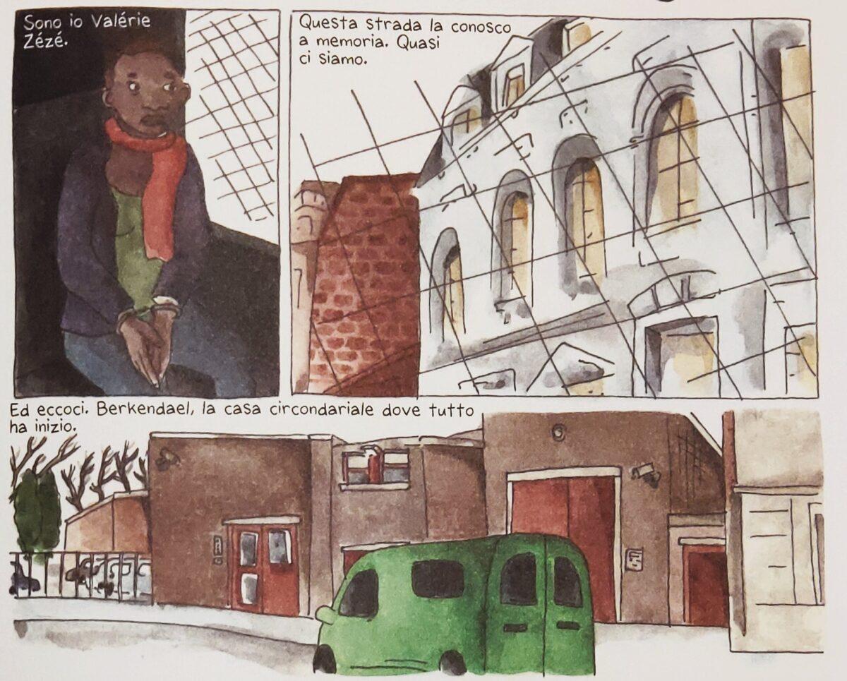 Mio caro fumetto... - L'arresto e la traduzione alla Casa circondariale Berkendael di Forest