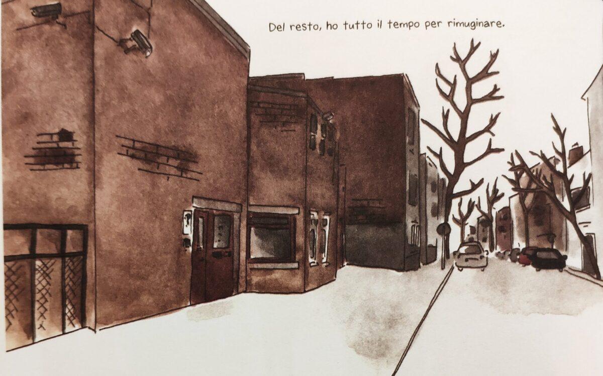 Mio caro fumetto... - L'ingresso della Casa circondariale femminile Berkendael di Forest