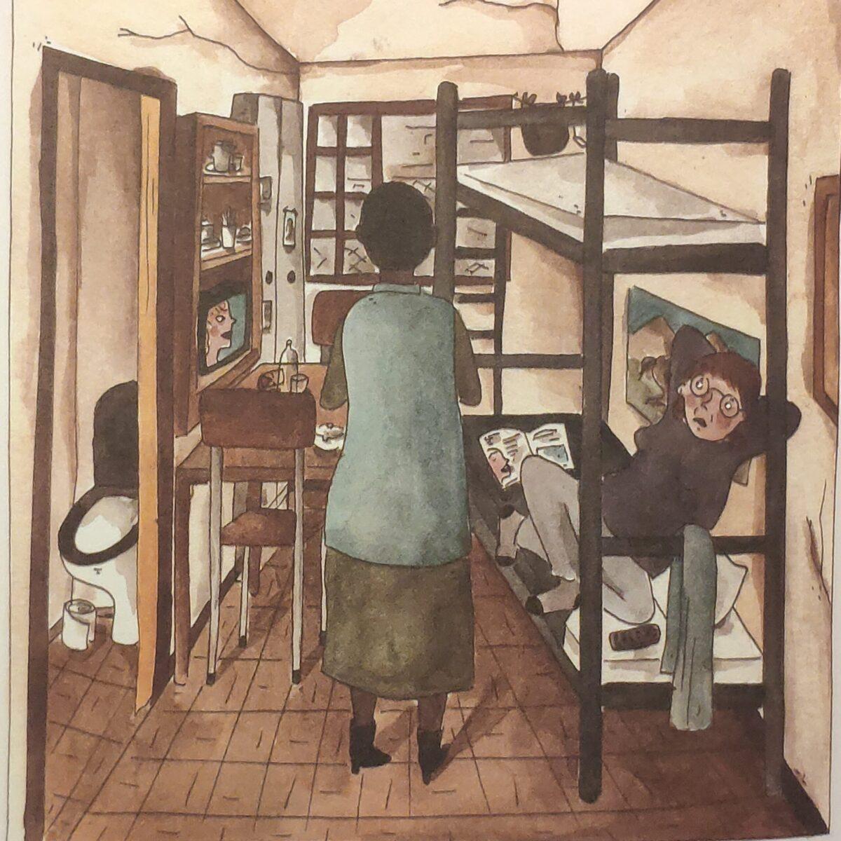 Mio caro fumetto... - L'ingresso nella cella