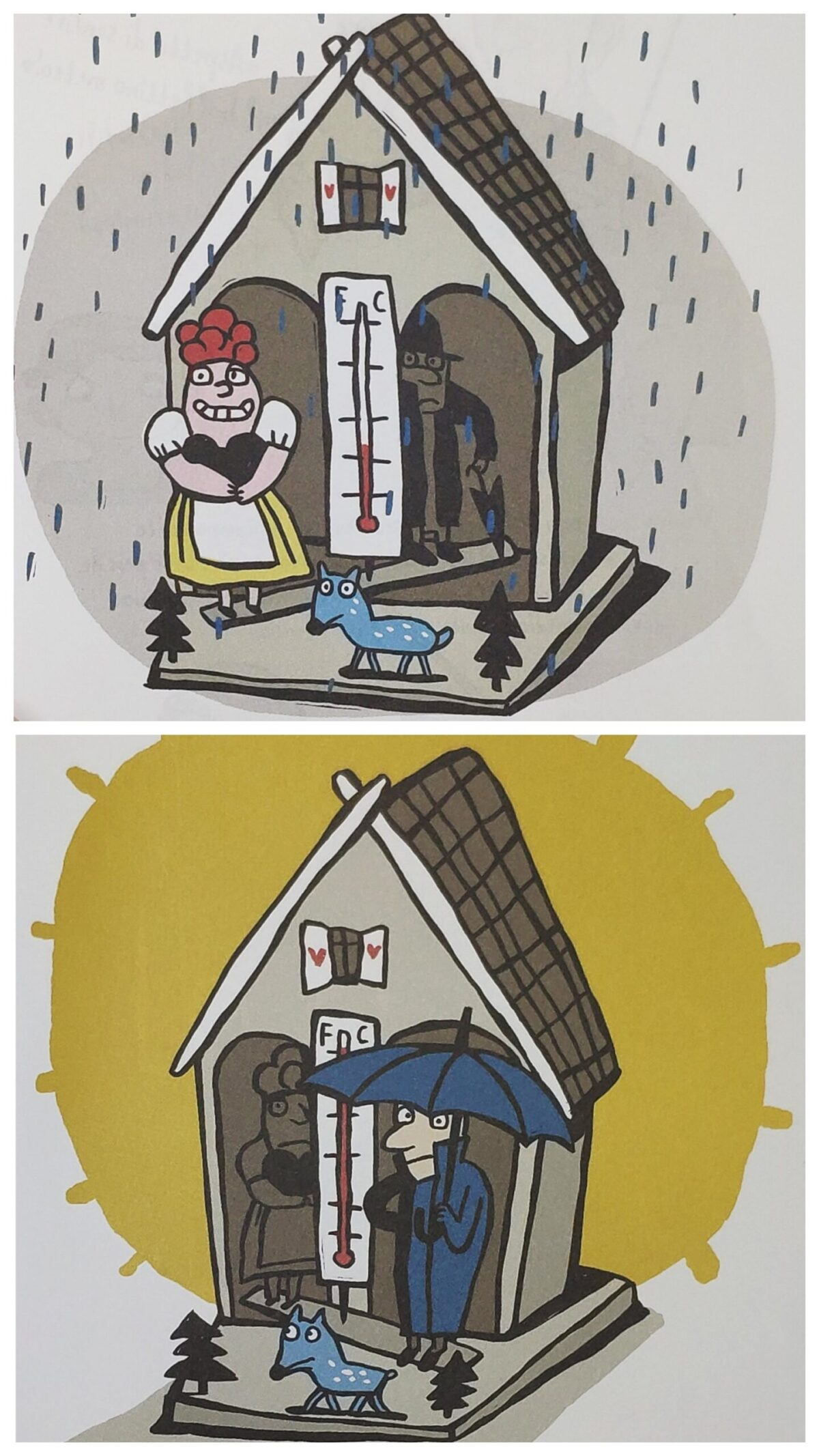 Mio caro fumetto... - Casetta meteorologica