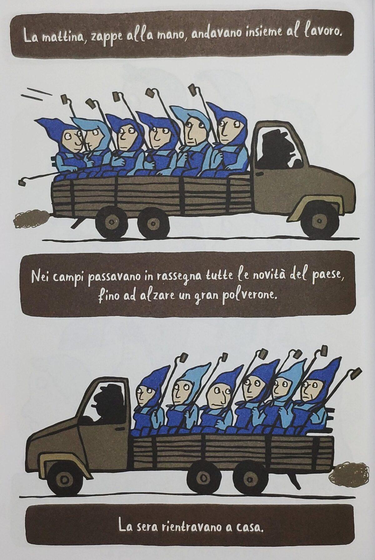 Mio caro fumetto... - Le donne che lavorano in campagna sotto il regime socialista