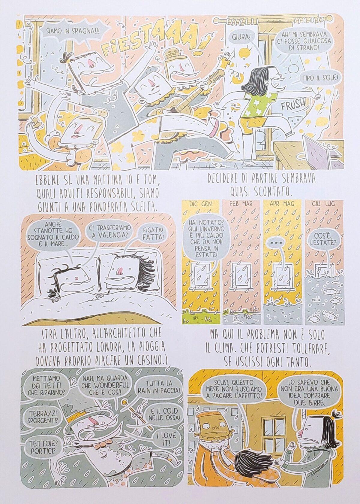 Mio caro fumetto... - Andrea Barattin e Tommaso si trasferiscono da Londra a Valencia